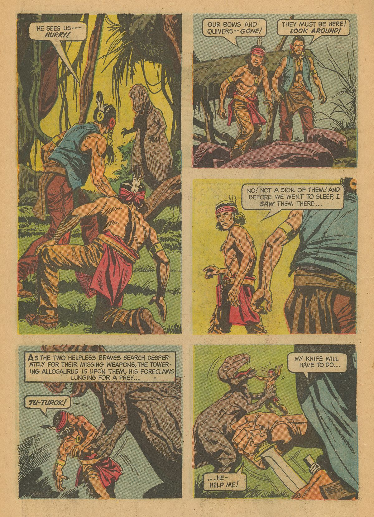 Read online Turok, Son of Stone comic -  Issue #43 - 6