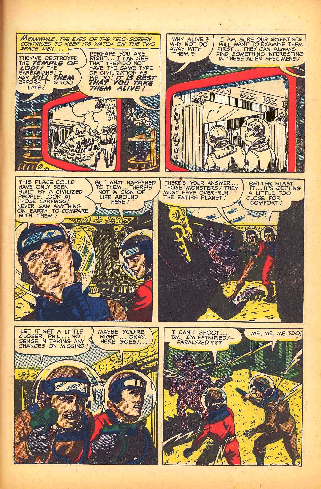 Weird Mysteries (1952) issue 6 - Page 31