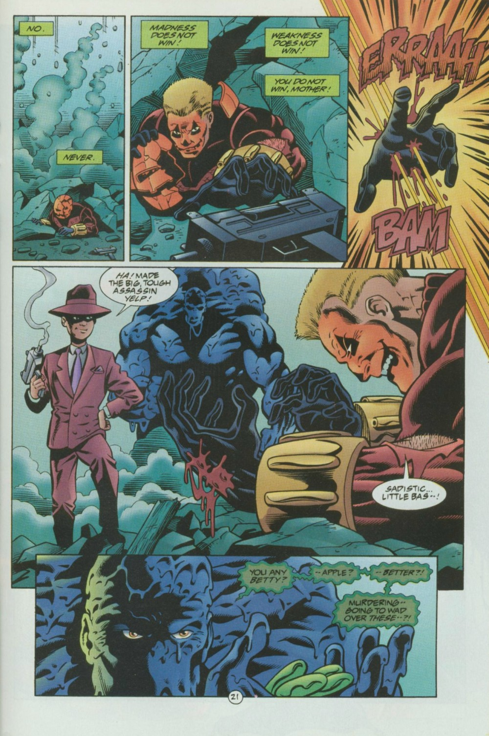 Read online Sludge comic -  Issue #8 - 22