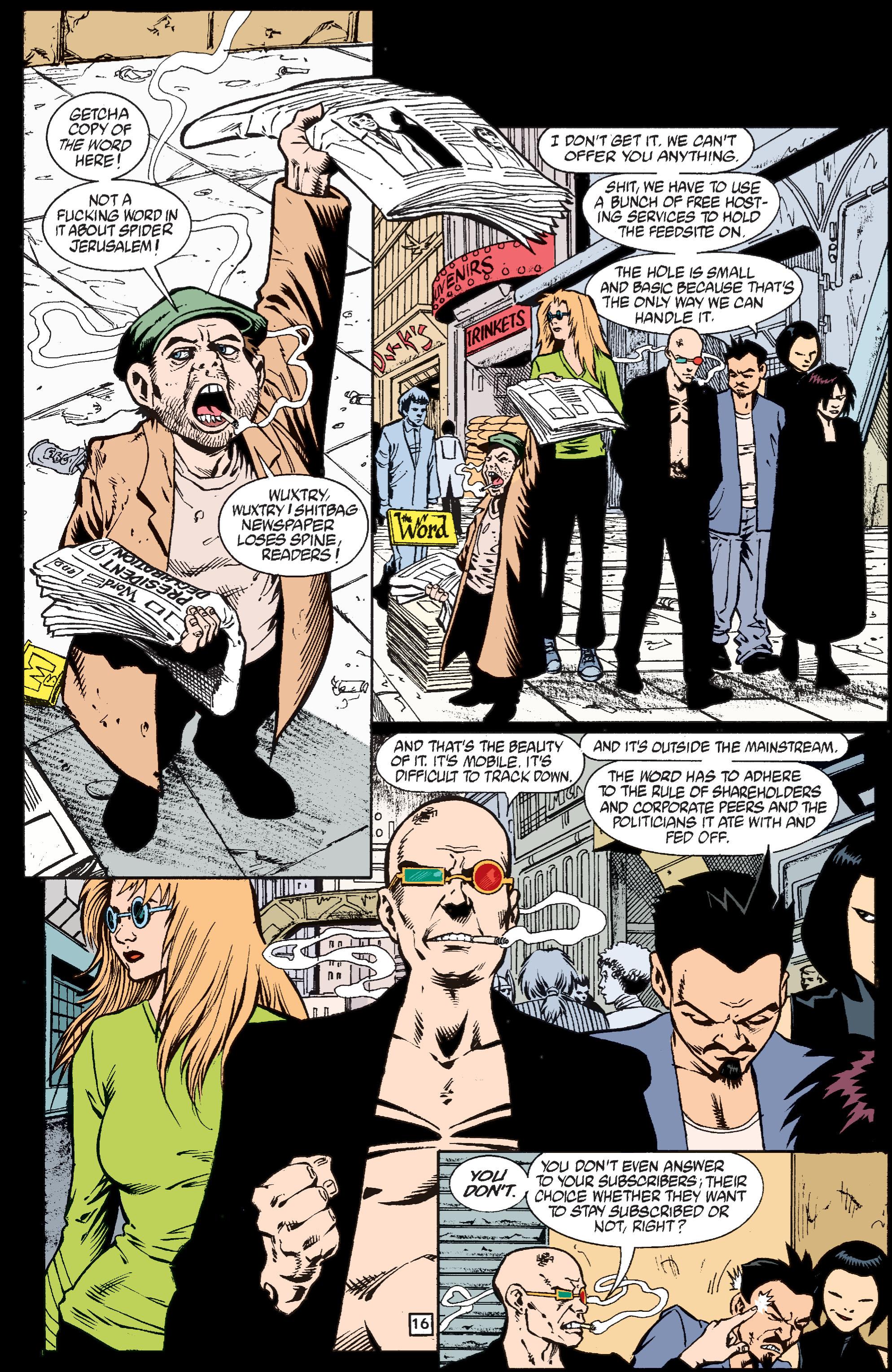 Read online Transmetropolitan comic -  Issue #37 - 17