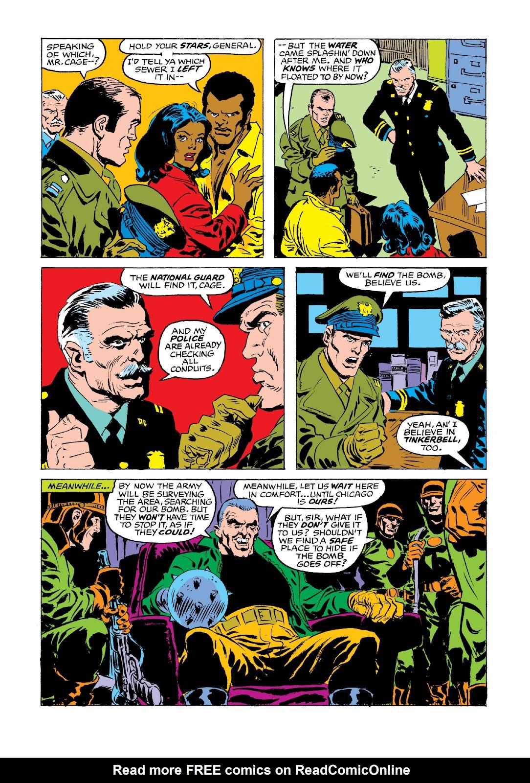 Read online Marvel Masterworks: Luke Cage, Power Man comic -  Issue # TPB 3 (Part 3) - 72