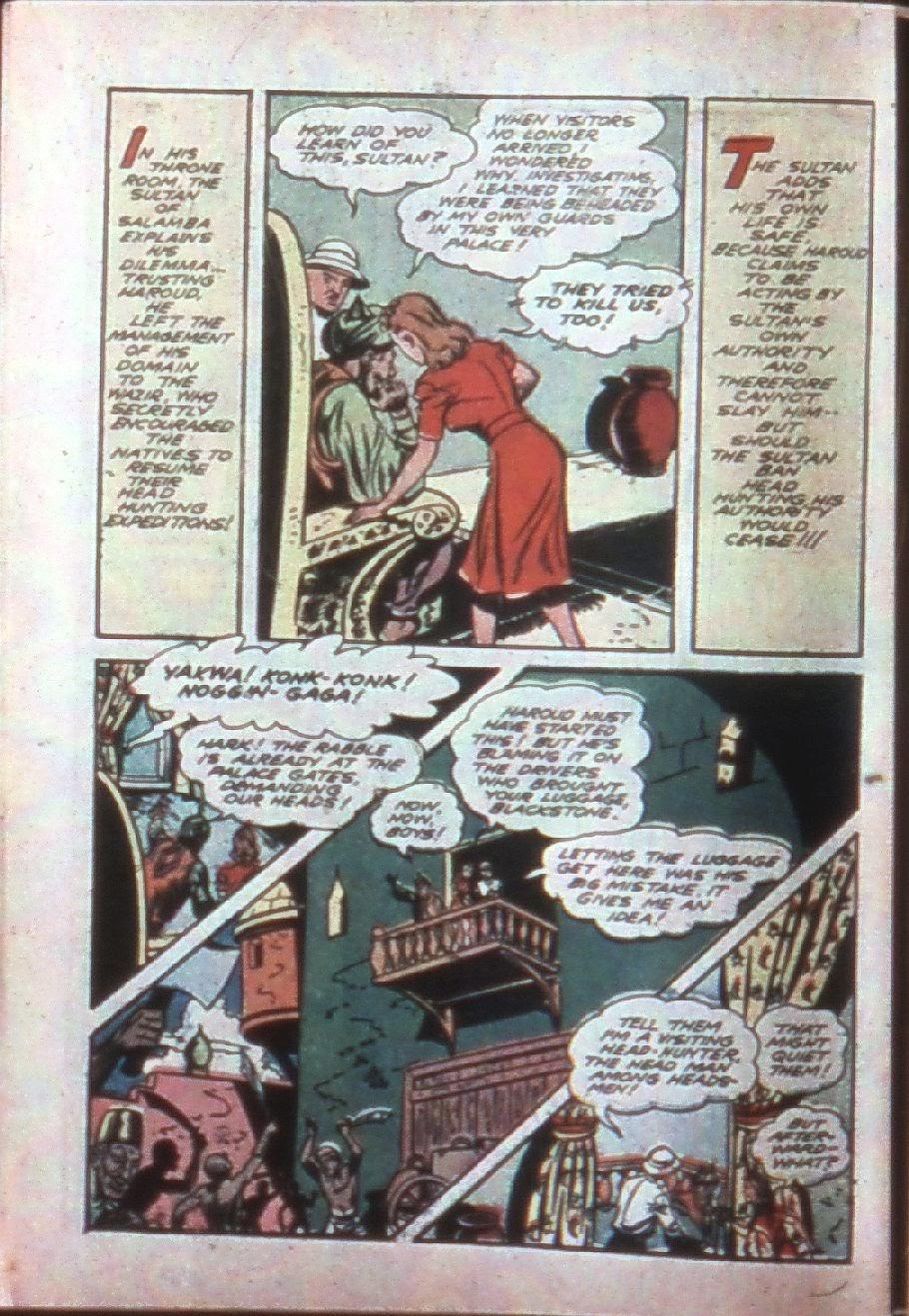 Read online Super-Magician Comics comic -  Issue #7 - 8