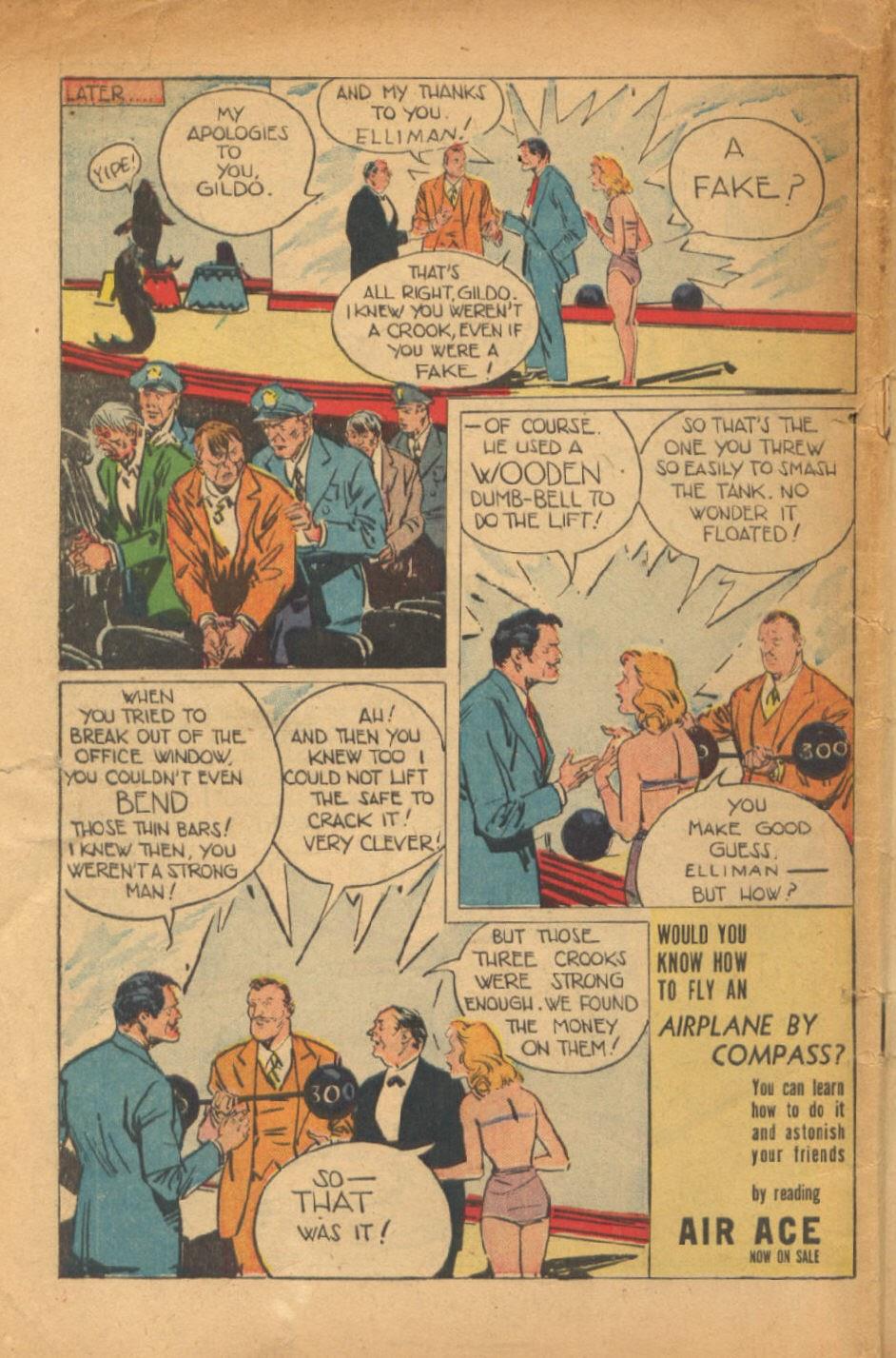 Read online Super-Magician Comics comic -  Issue #54 - 49