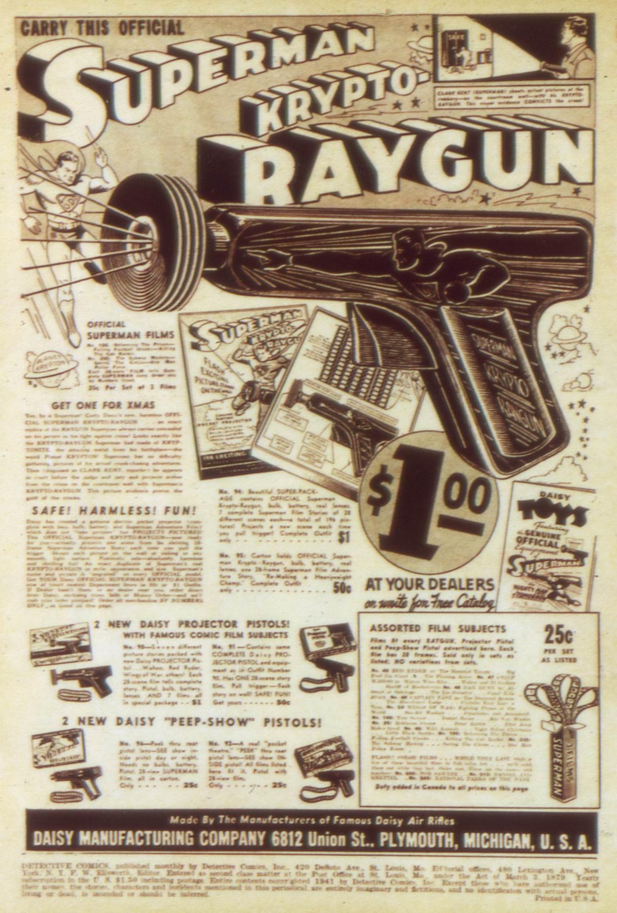 Read online Detective Comics (1937) comic -  Issue #58 - 2