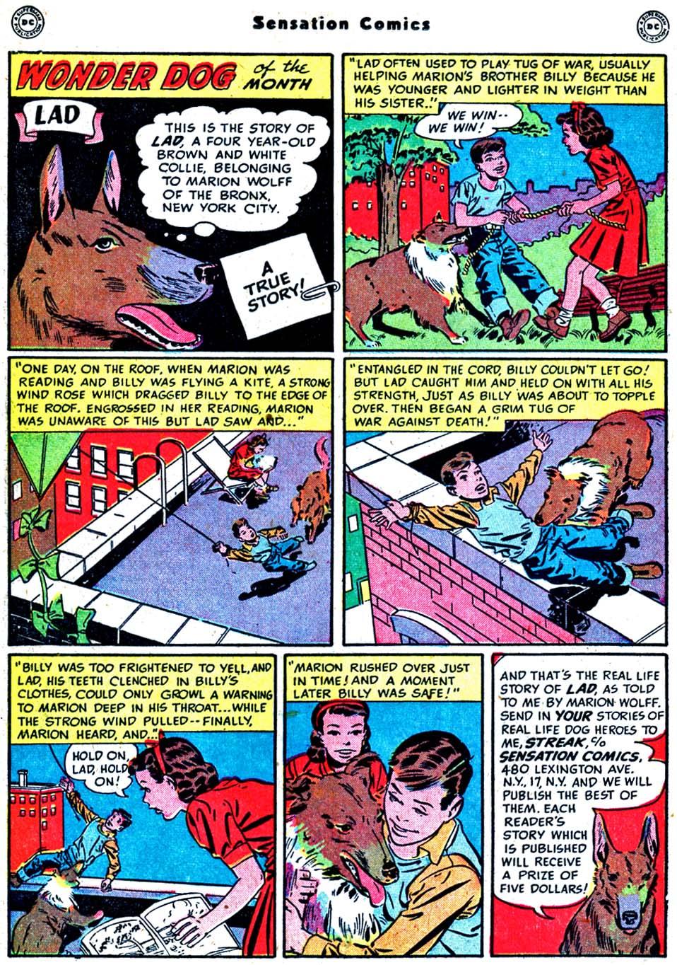Read online Sensation (Mystery) Comics comic -  Issue #91 - 24