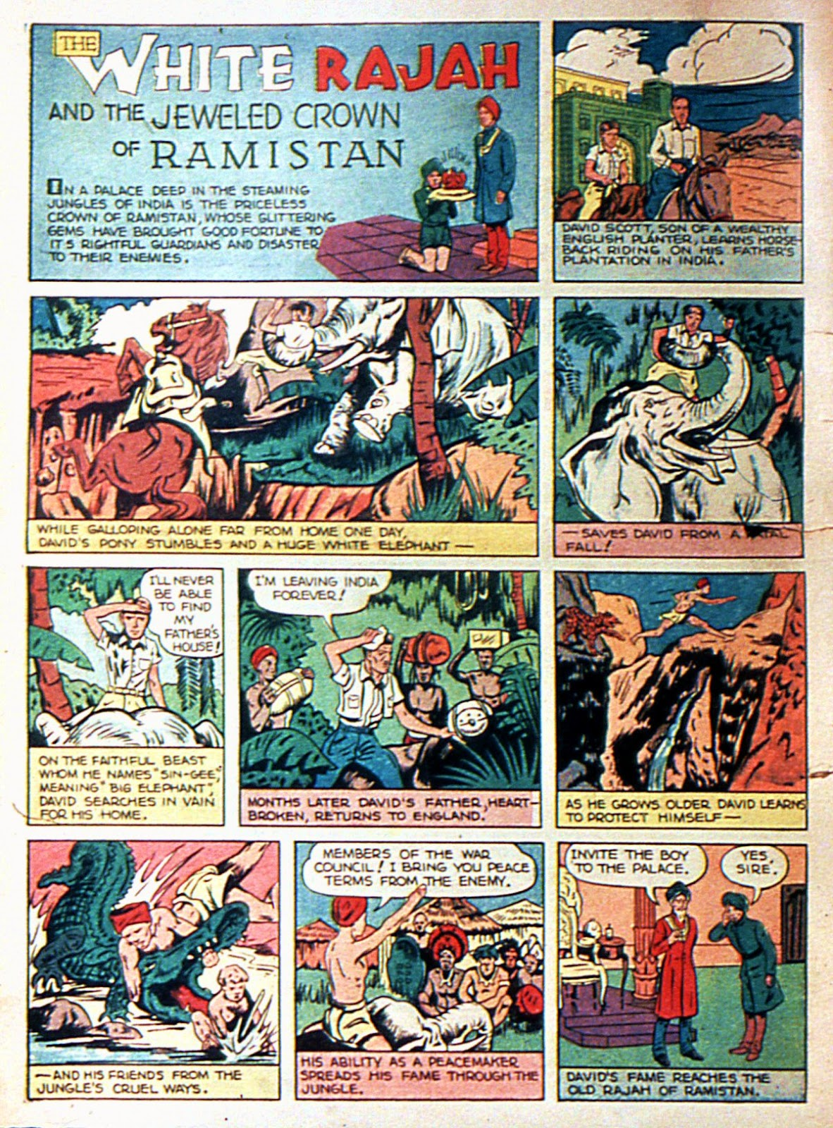 Comic Master Comics issue 1