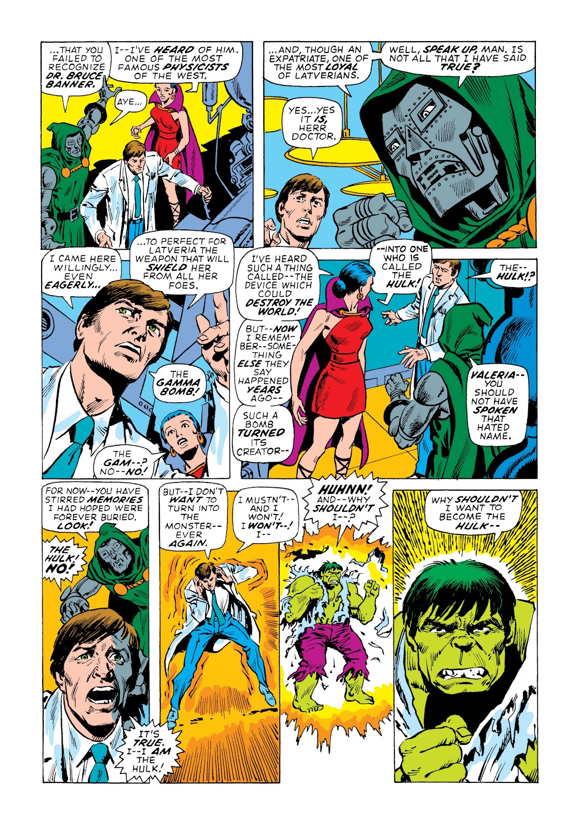 Read online Marvel Masterworks: The Incredible Hulk comic -  Issue # TPB 7 (Part 3) - 12