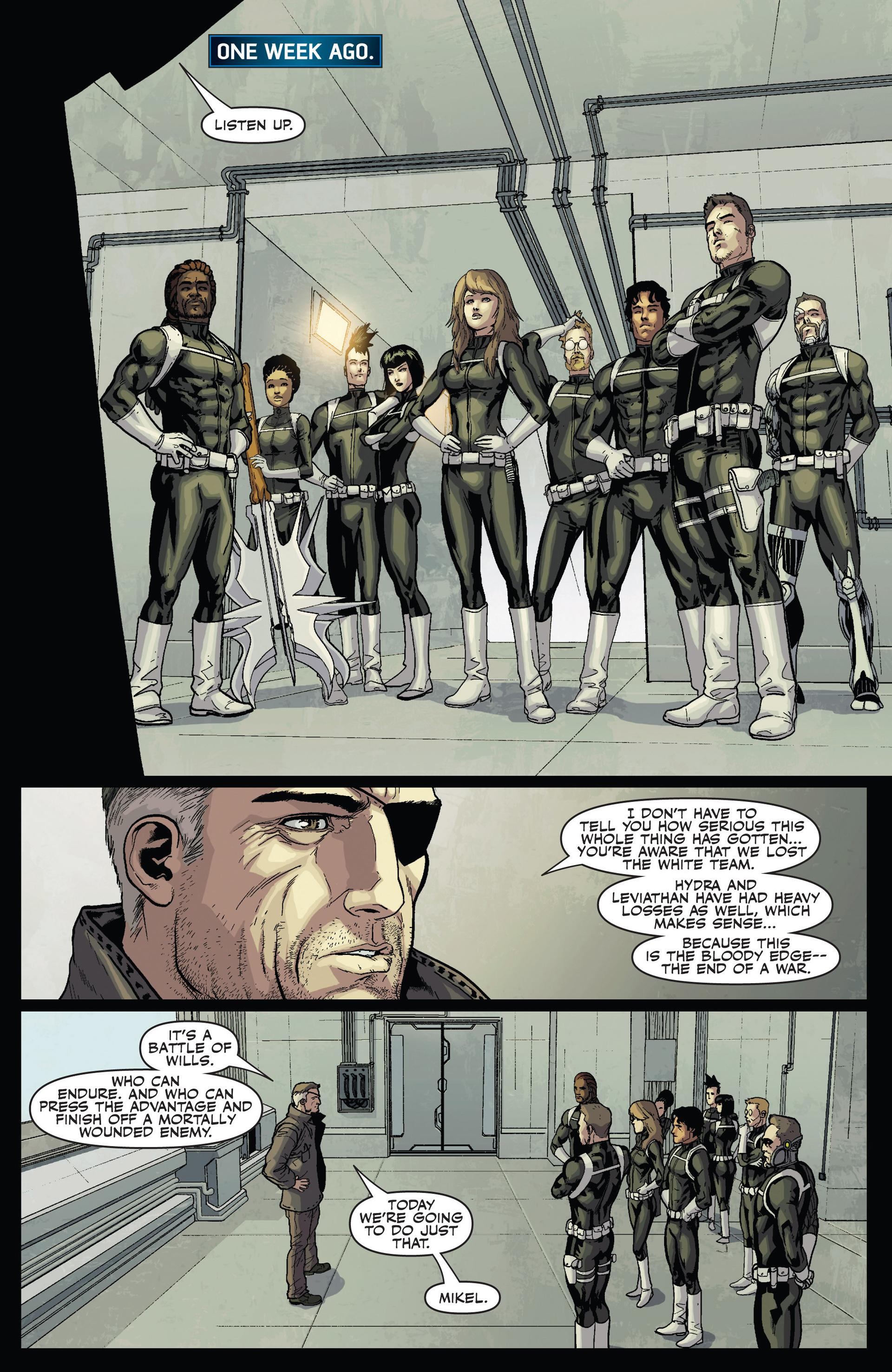 Read online Secret Warriors comic -  Issue #24 - 19