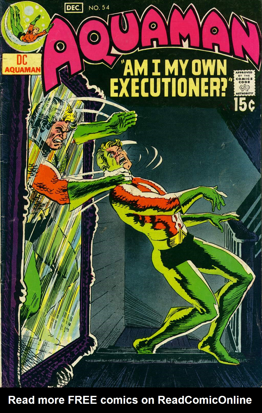 Read online Aquaman (1962) comic -  Issue #54 - 1