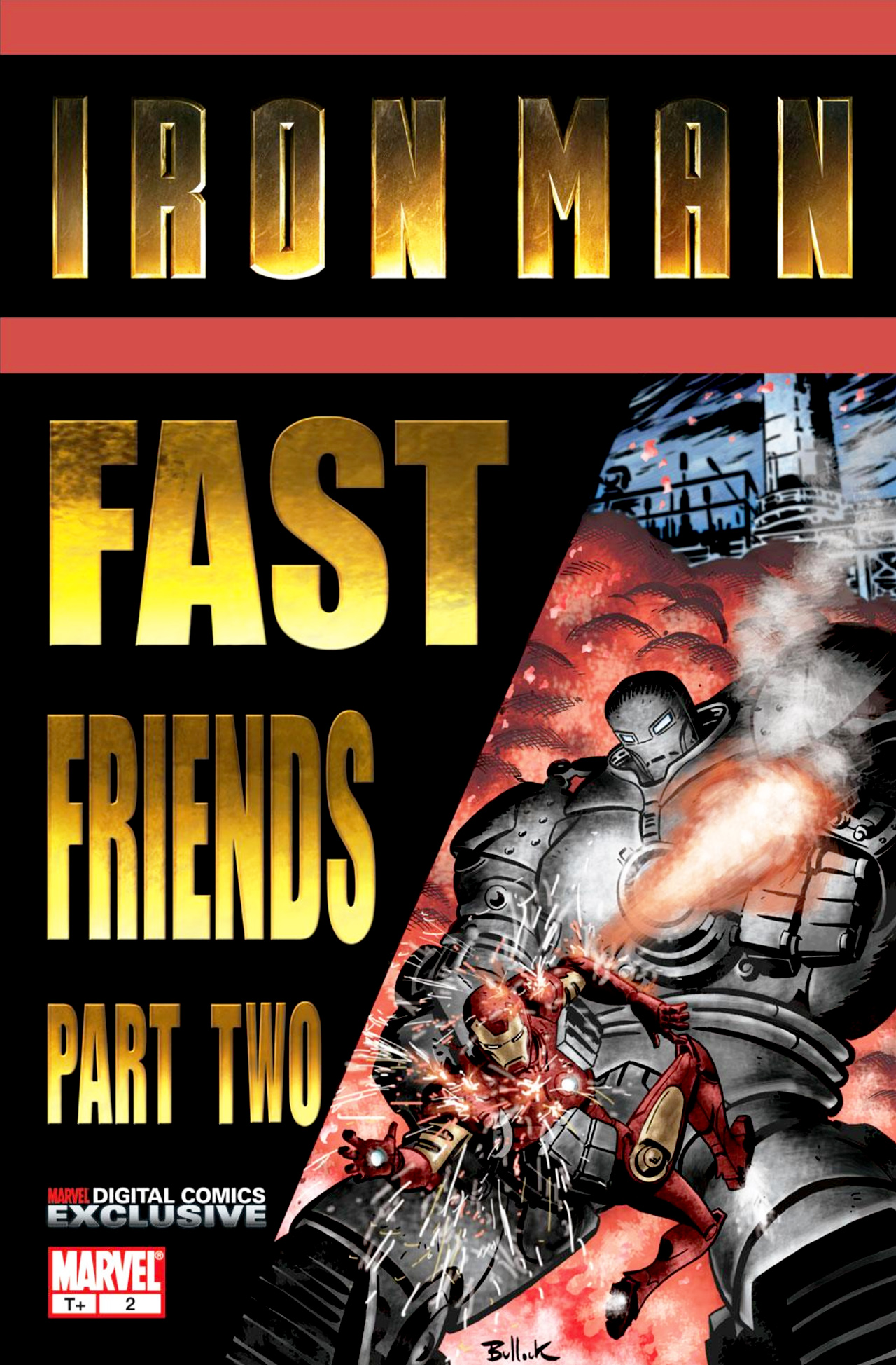 Read online Iron Man: Fast Friends comic -  Issue #2 - 1