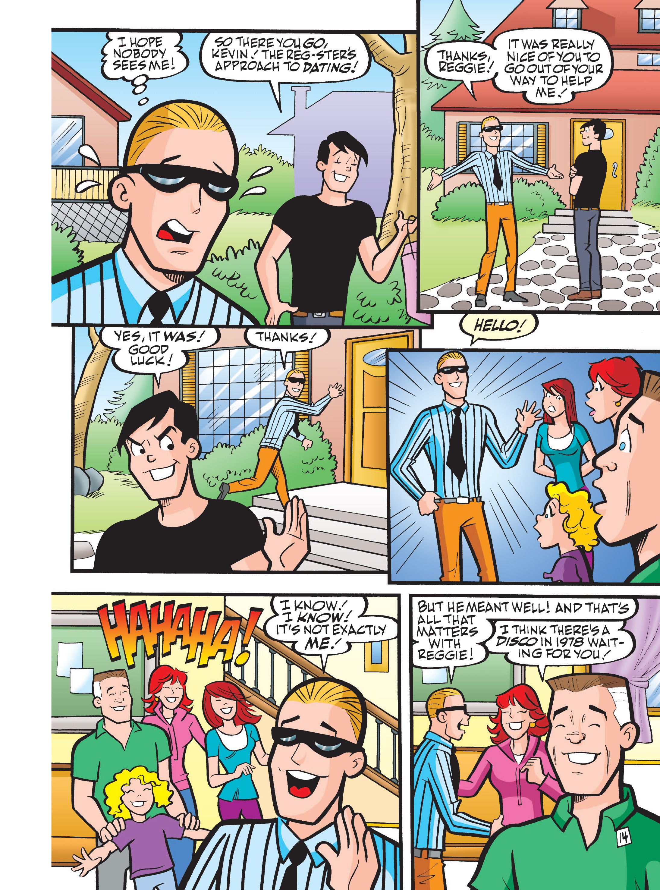 Read online Archie 75th Anniversary Digest comic -  Issue #1 - 160