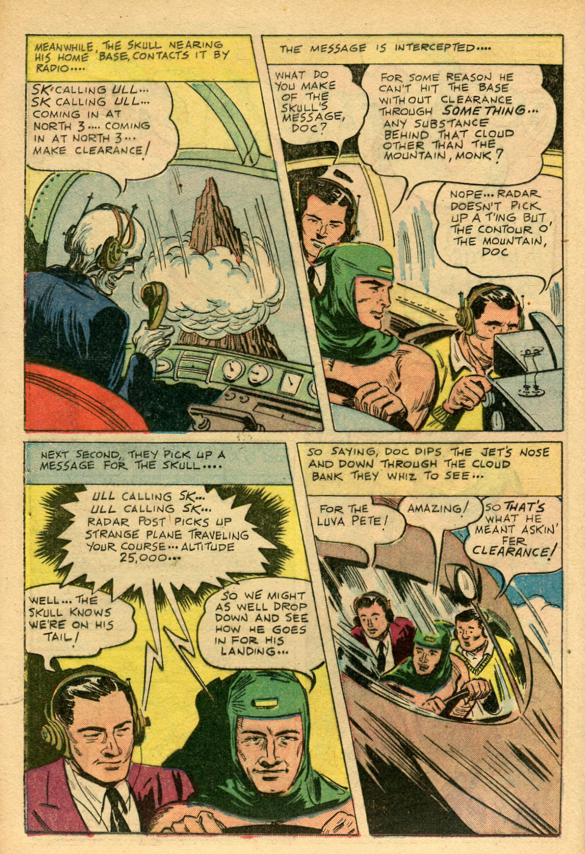 Read online Shadow Comics comic -  Issue #69 - 18