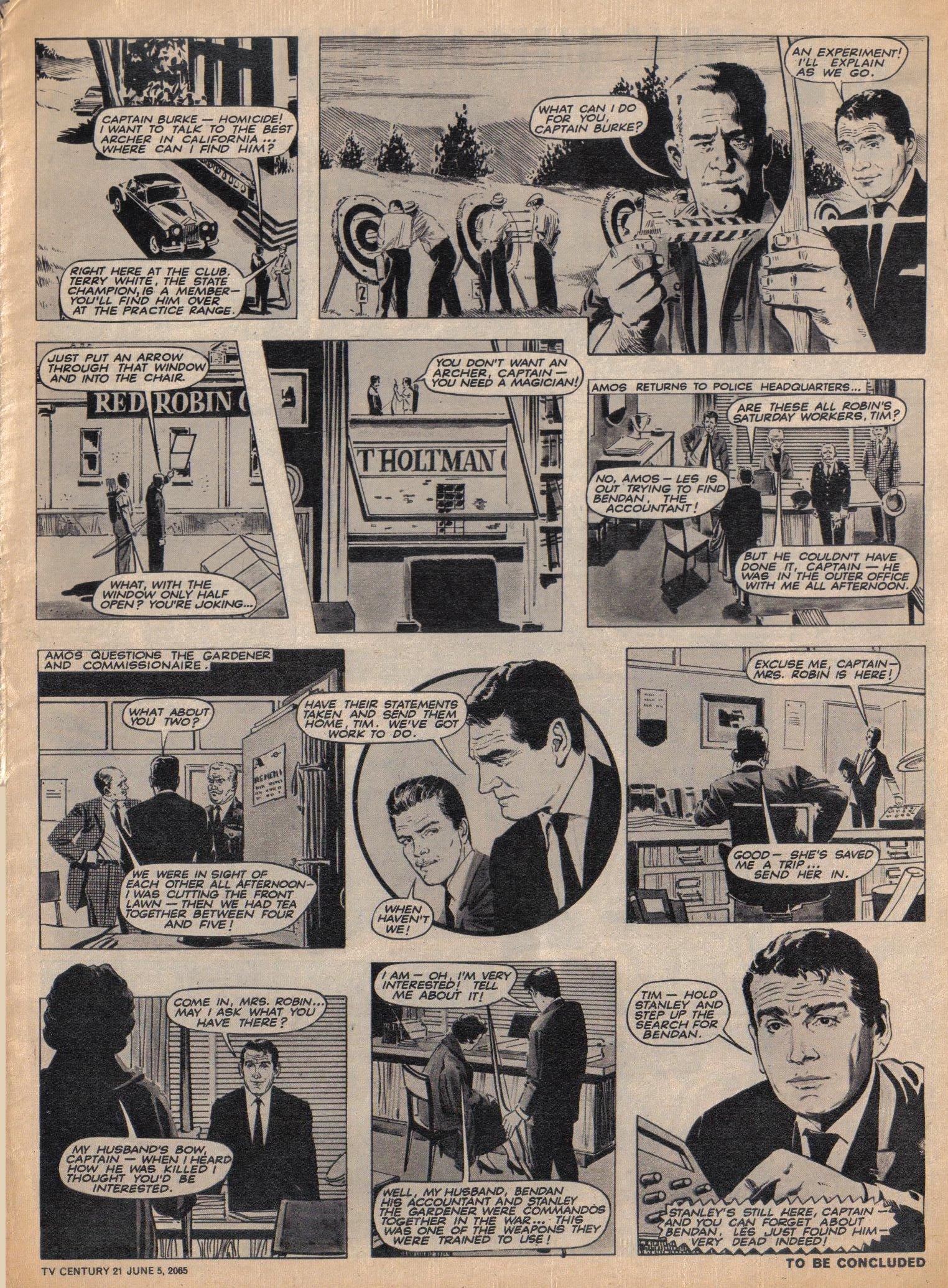 Read online TV Century 21 (TV 21) comic -  Issue #20 - 3