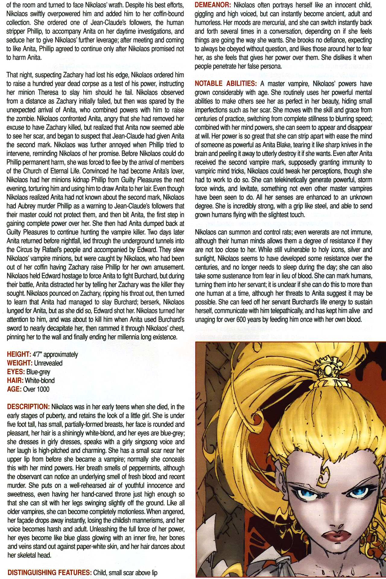 Read online Anita Blake, Vampire Hunter: Guilty Pleasures Handbook comic -  Issue #Anita Blake, Vampire Hunter: Guilty Pleasures Handbook Full - 24