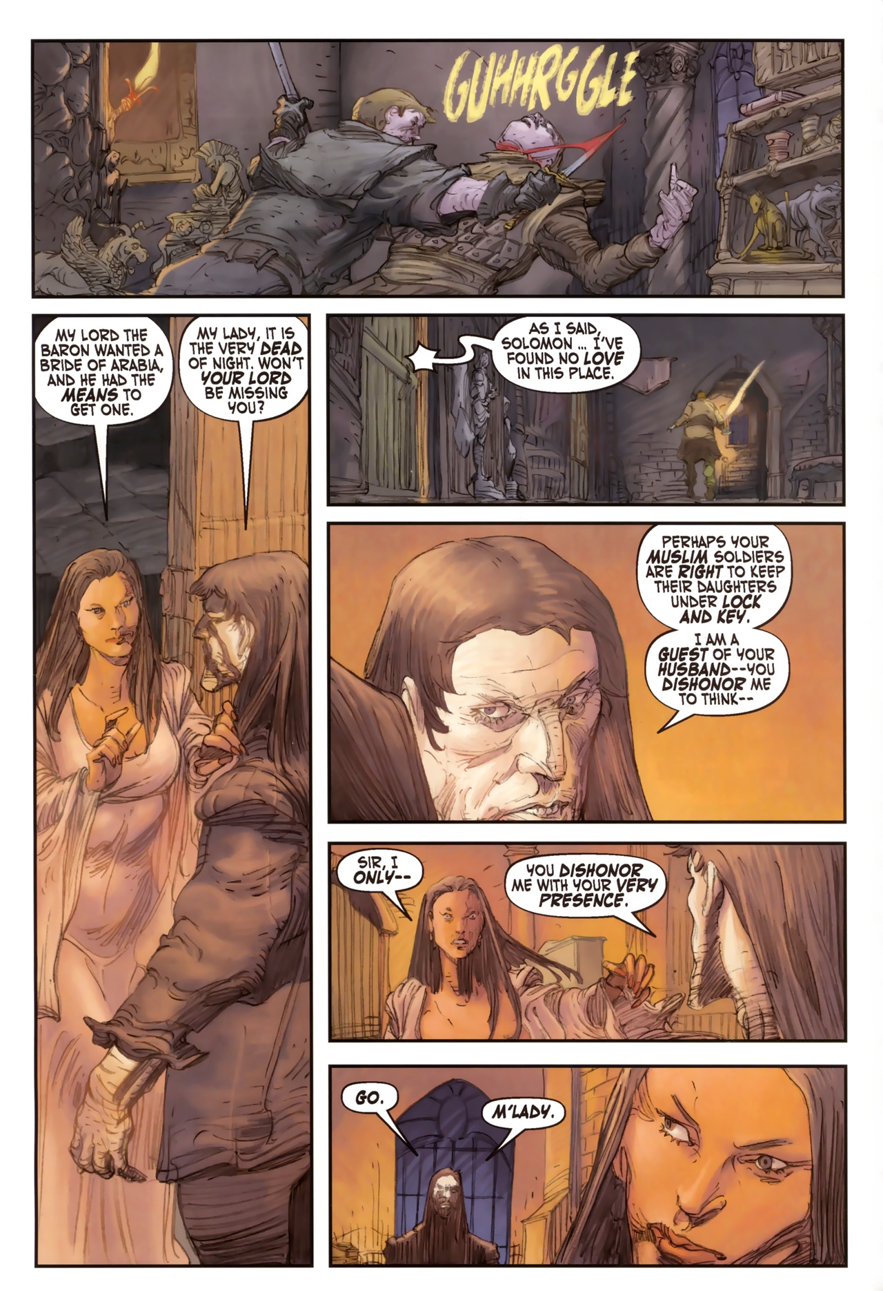 Read online Solomon Kane comic -  Issue #2 - 8