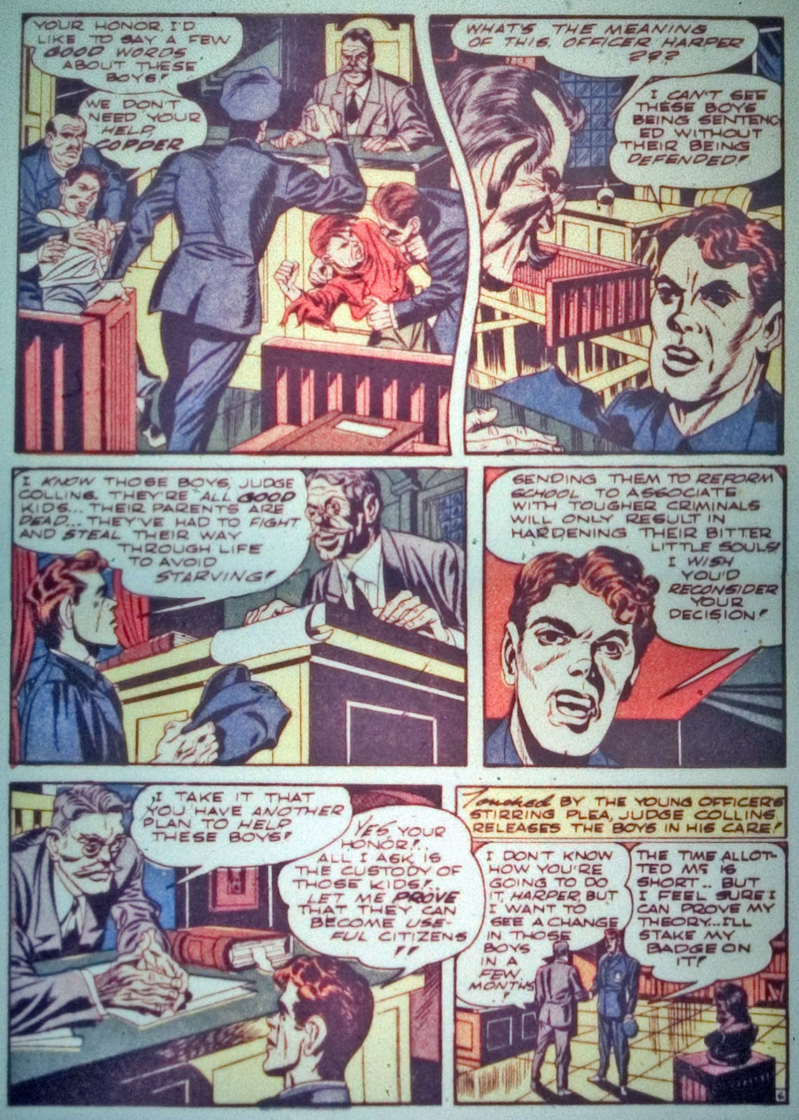 Star Spangled Comics (1941) issue 7 - Page 8