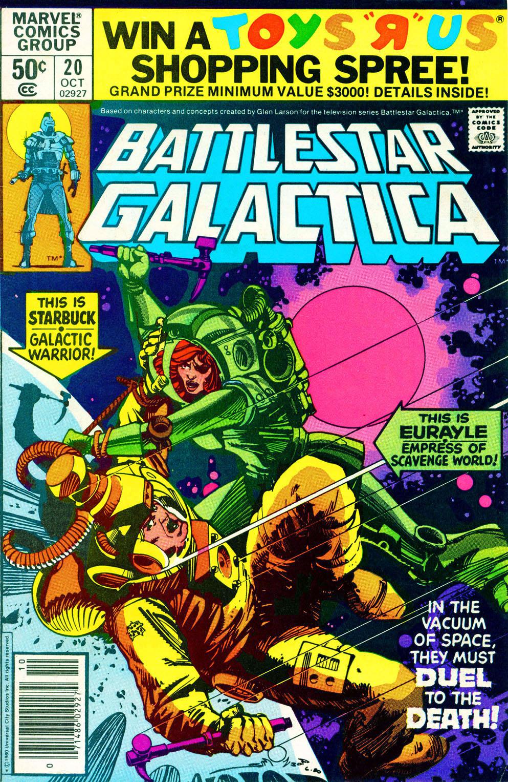Battlestar Galactica 20 Page 1