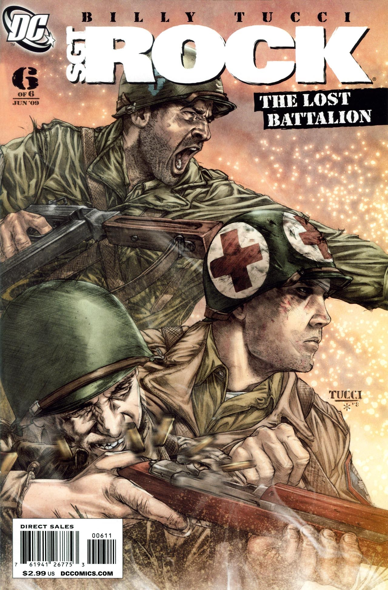 Read online Sgt. Rock: The Lost Battalion comic -  Issue #6 - 1