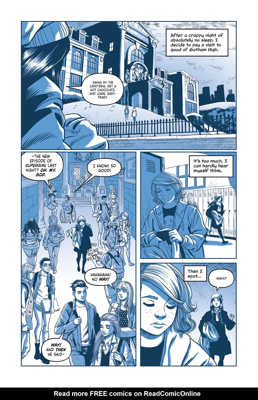 Read online Under the Moon: A Catwoman Tale comic -  Issue # TPB (Part 2) - 4
