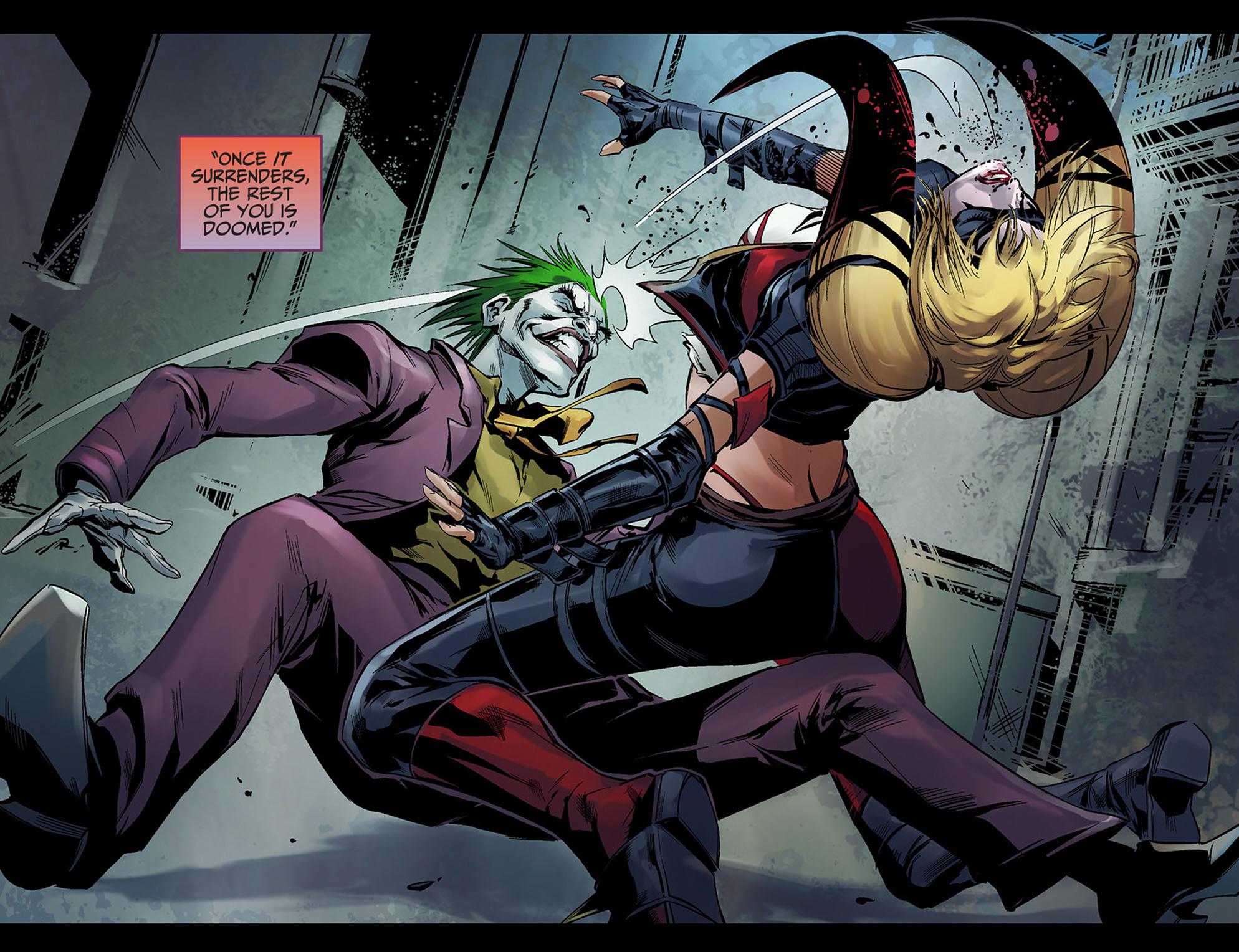 Read online Injustice: Ground Zero comic -  Issue #5 - 13