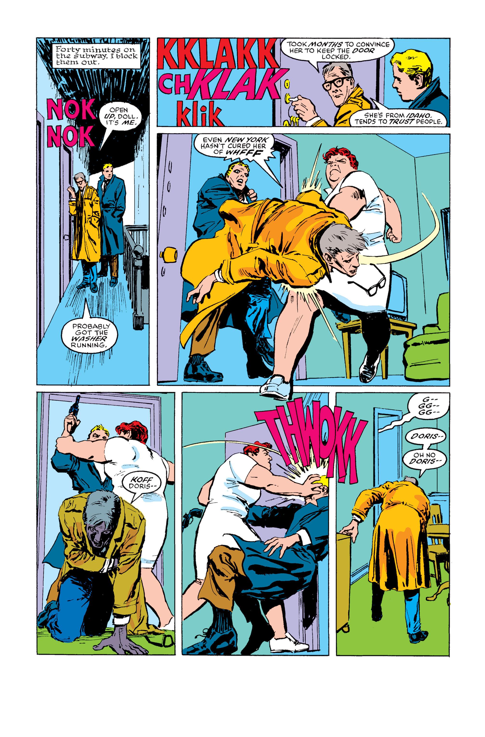 Read online Daredevil: Born Again comic -  Issue # Full - 129