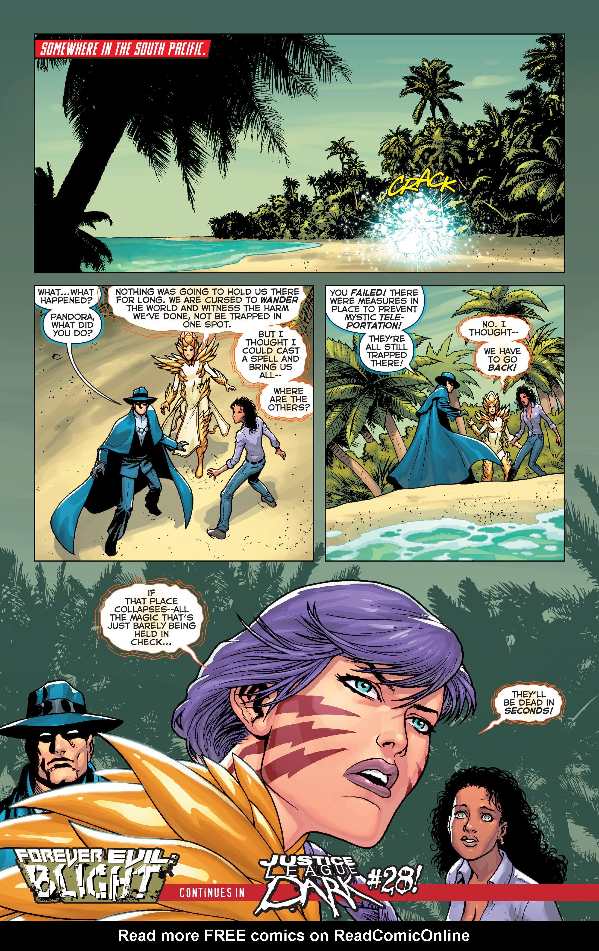 Read online Trinity of Sin: Pandora comic -  Issue #8 - 21