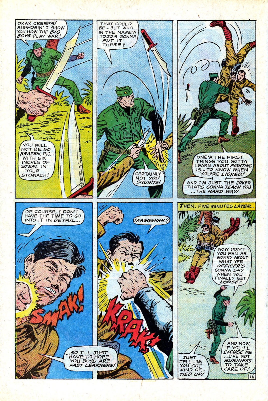 Captain Savage and his Leatherneck Raiders issue 18 - Page 18