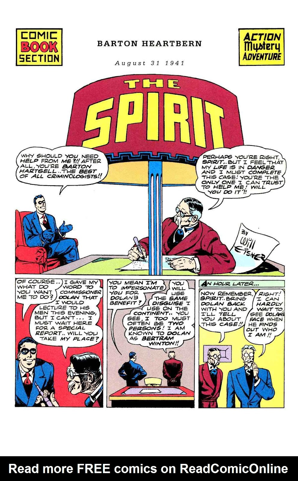 Read online Will Eisner's The Spirit Archives comic -  Issue # TPB 3 (Part 1) - 66