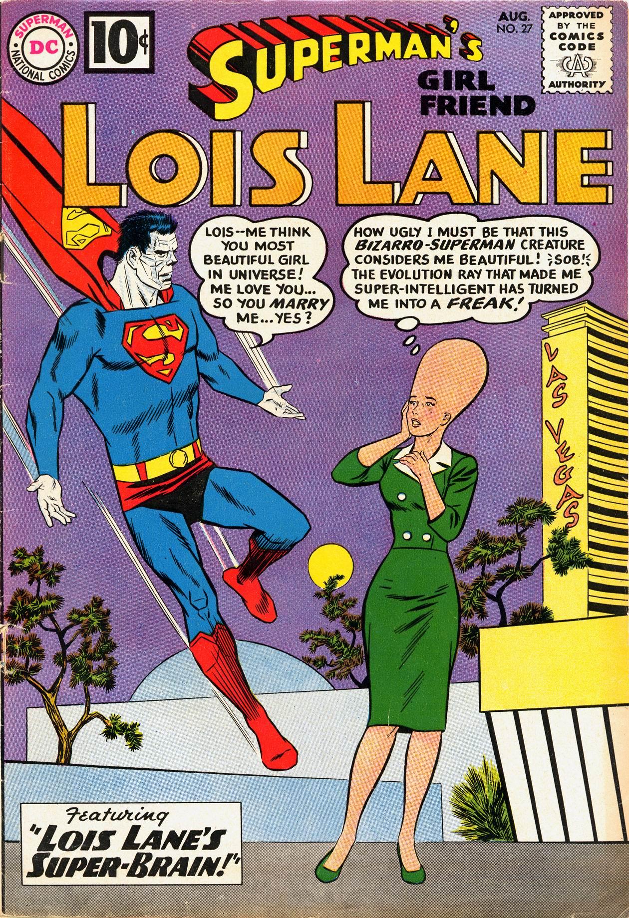 Supermans Girl Friend, Lois Lane 27 Page 1