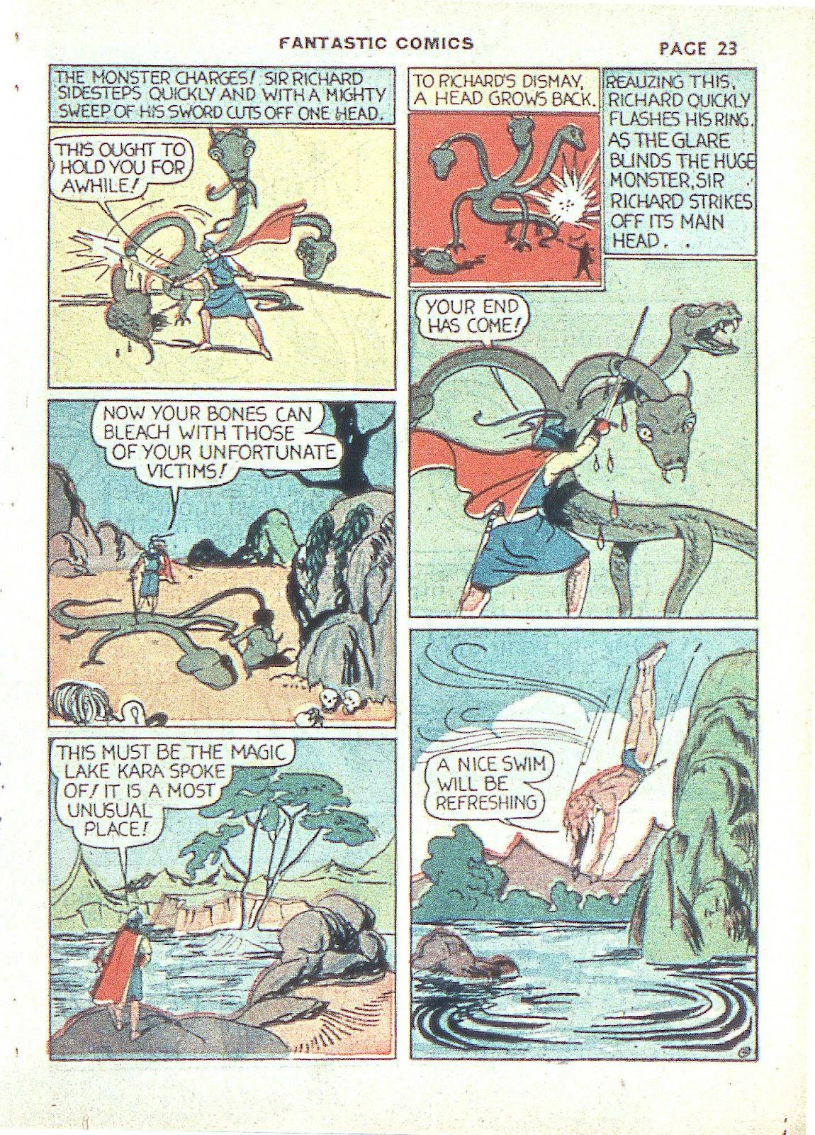 Read online Fantastic Comics comic -  Issue #3 - 26