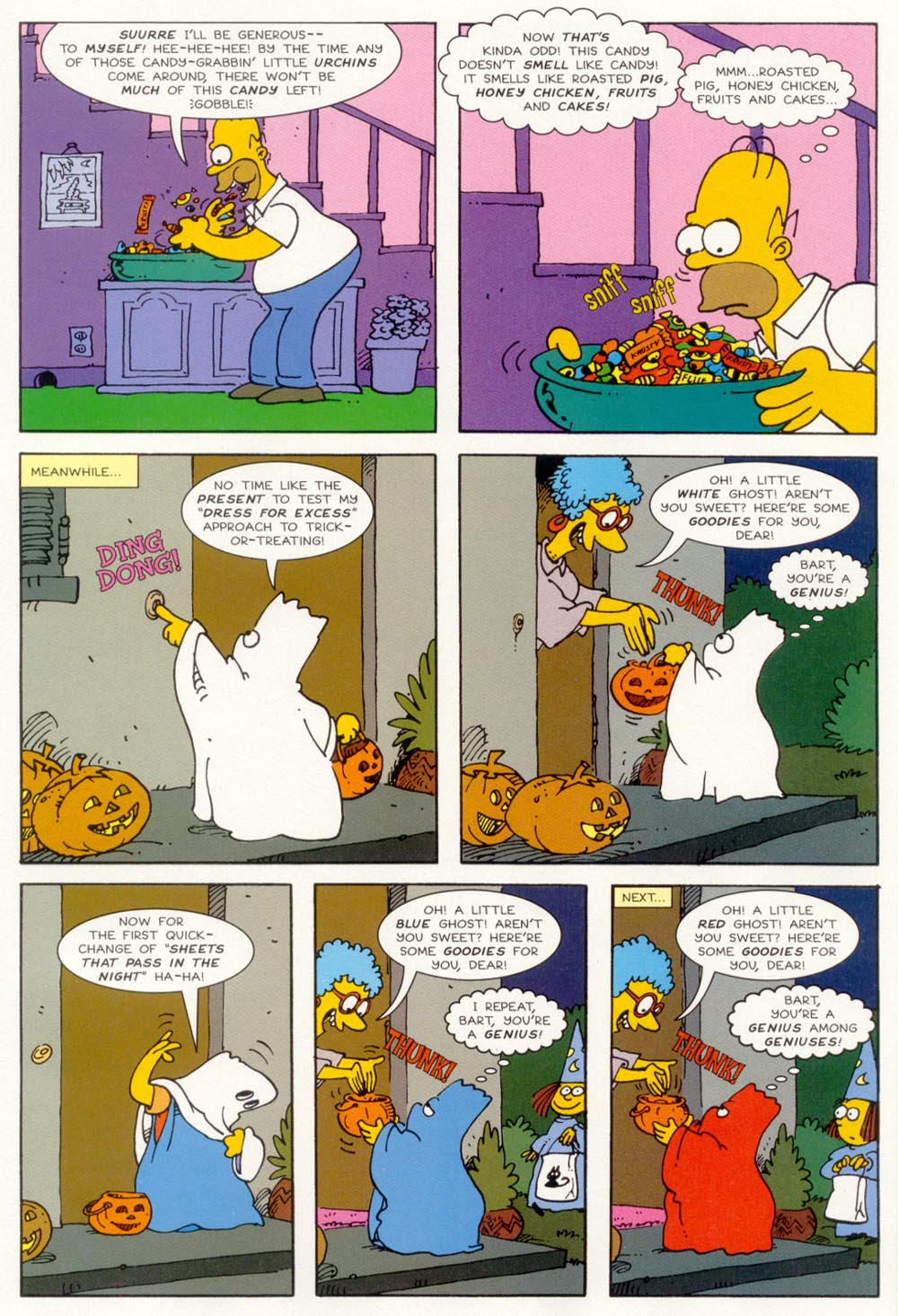 Read online Treehouse of Horror comic -  Issue #5 - 21