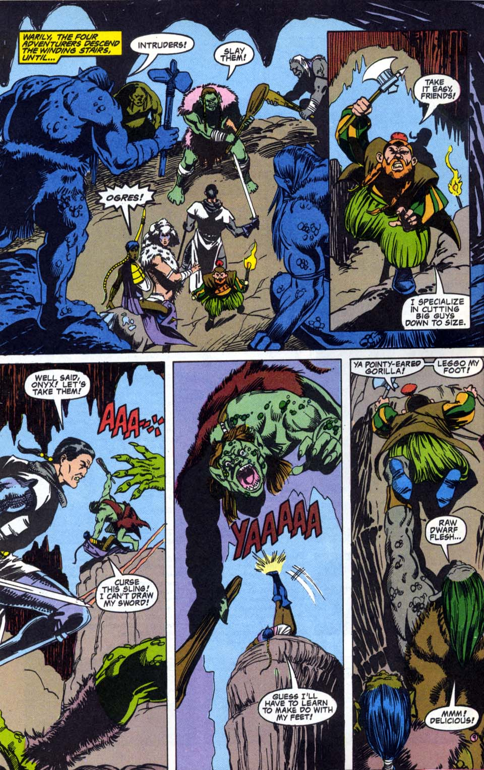 Read online Advanced Dungeons & Dragons comic -  Issue #4 - 9