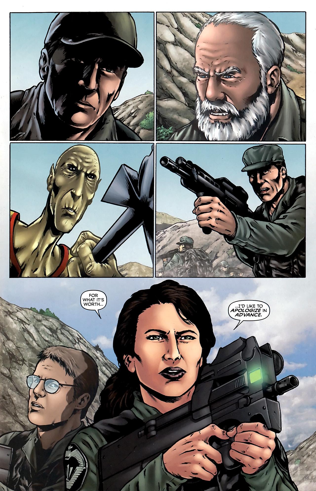 Read online Stargate Vala Mal Doran comic -  Issue #4 - 3
