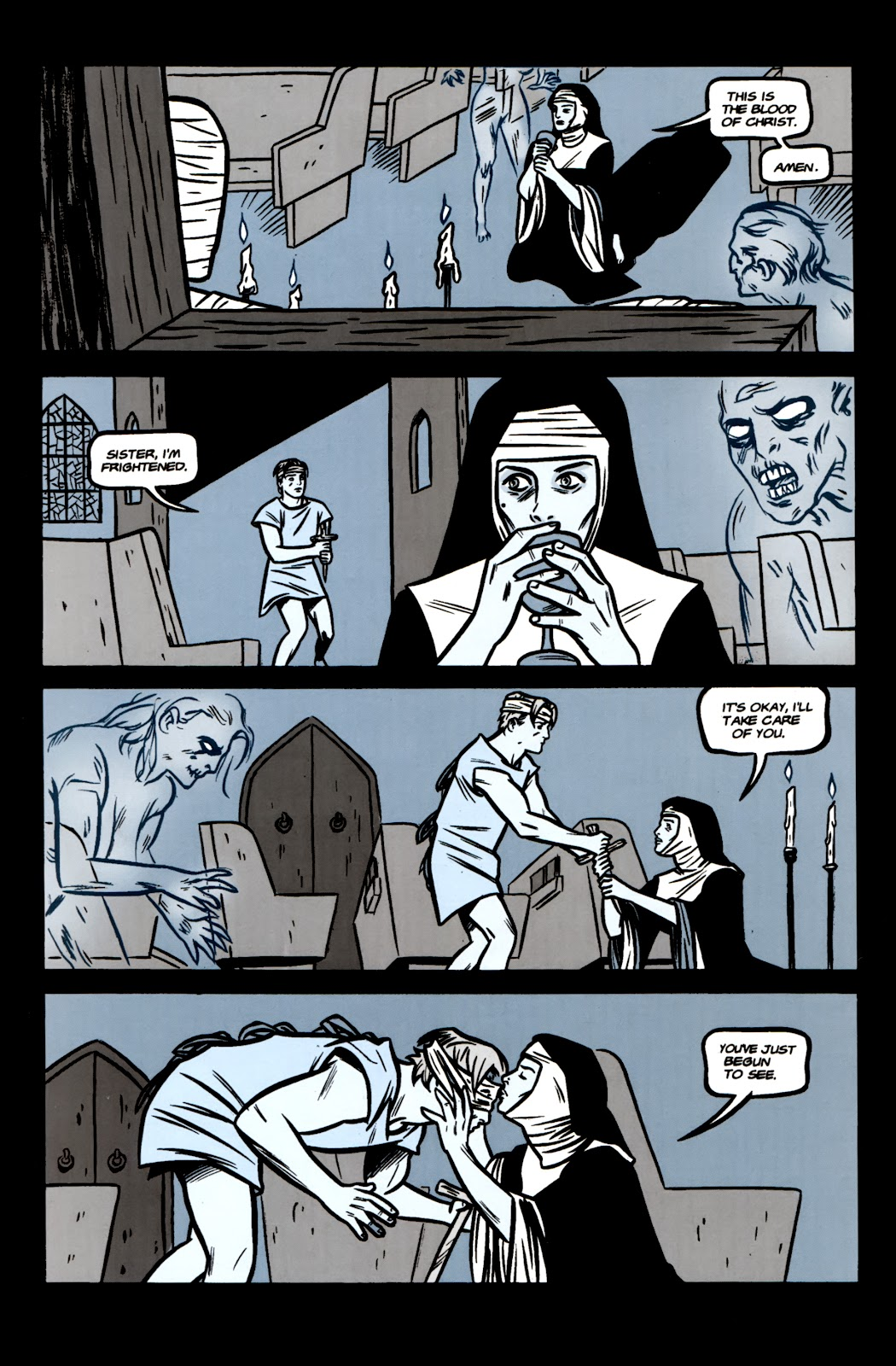 Read online Feeders comic -  Issue # Full - 17