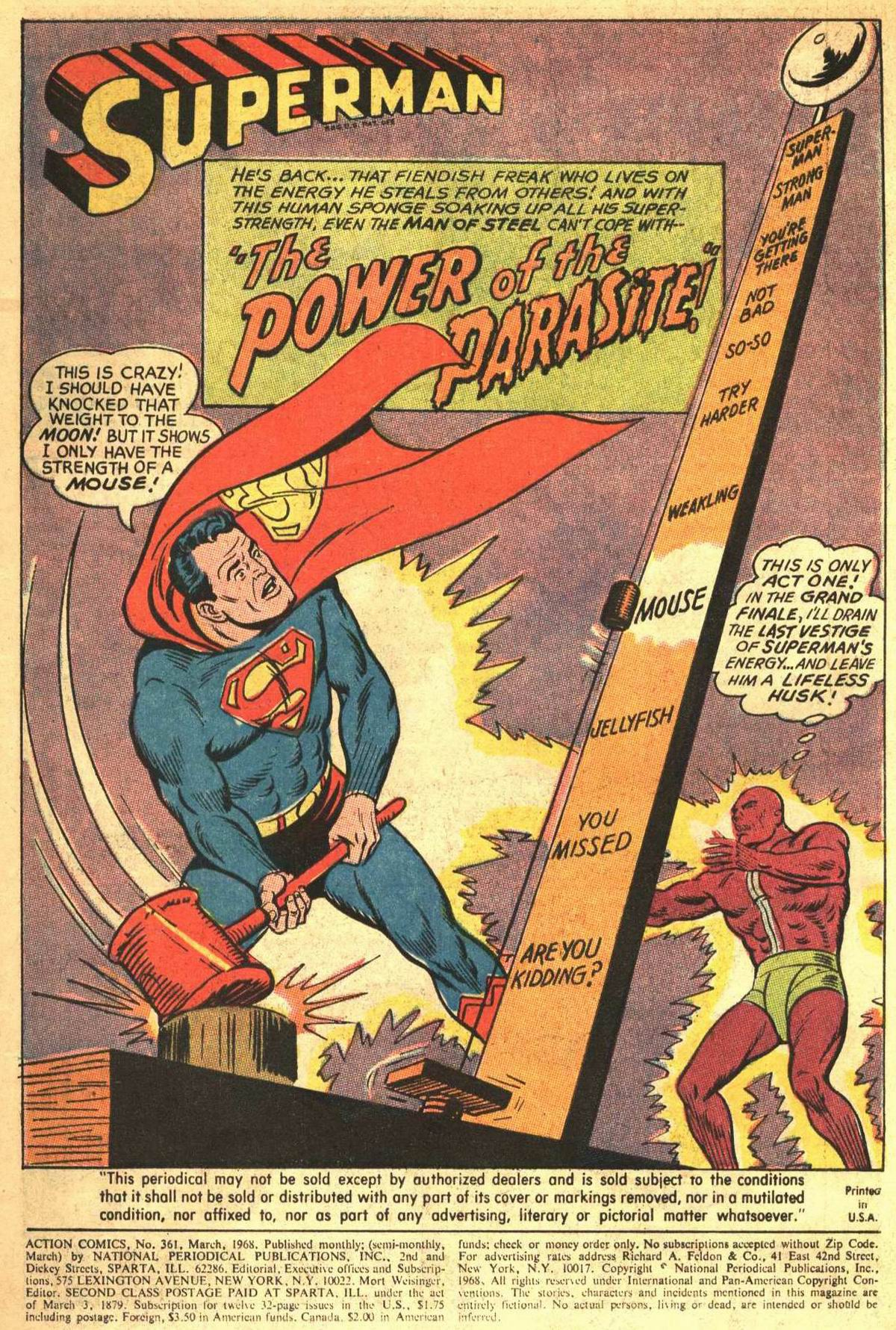 Read online Action Comics (1938) comic -  Issue #361 - 3