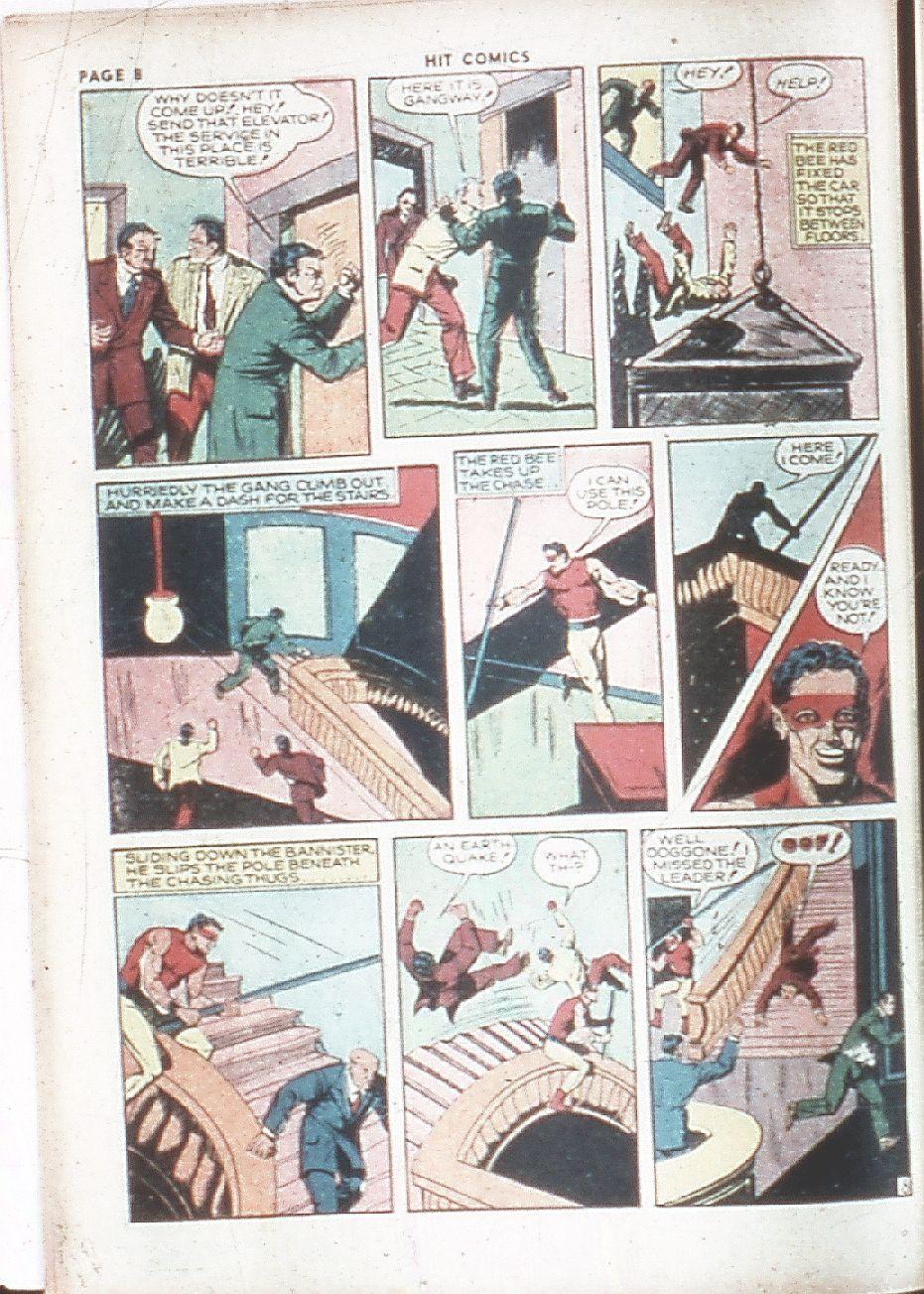 Read online Hit Comics comic -  Issue #7 - 10