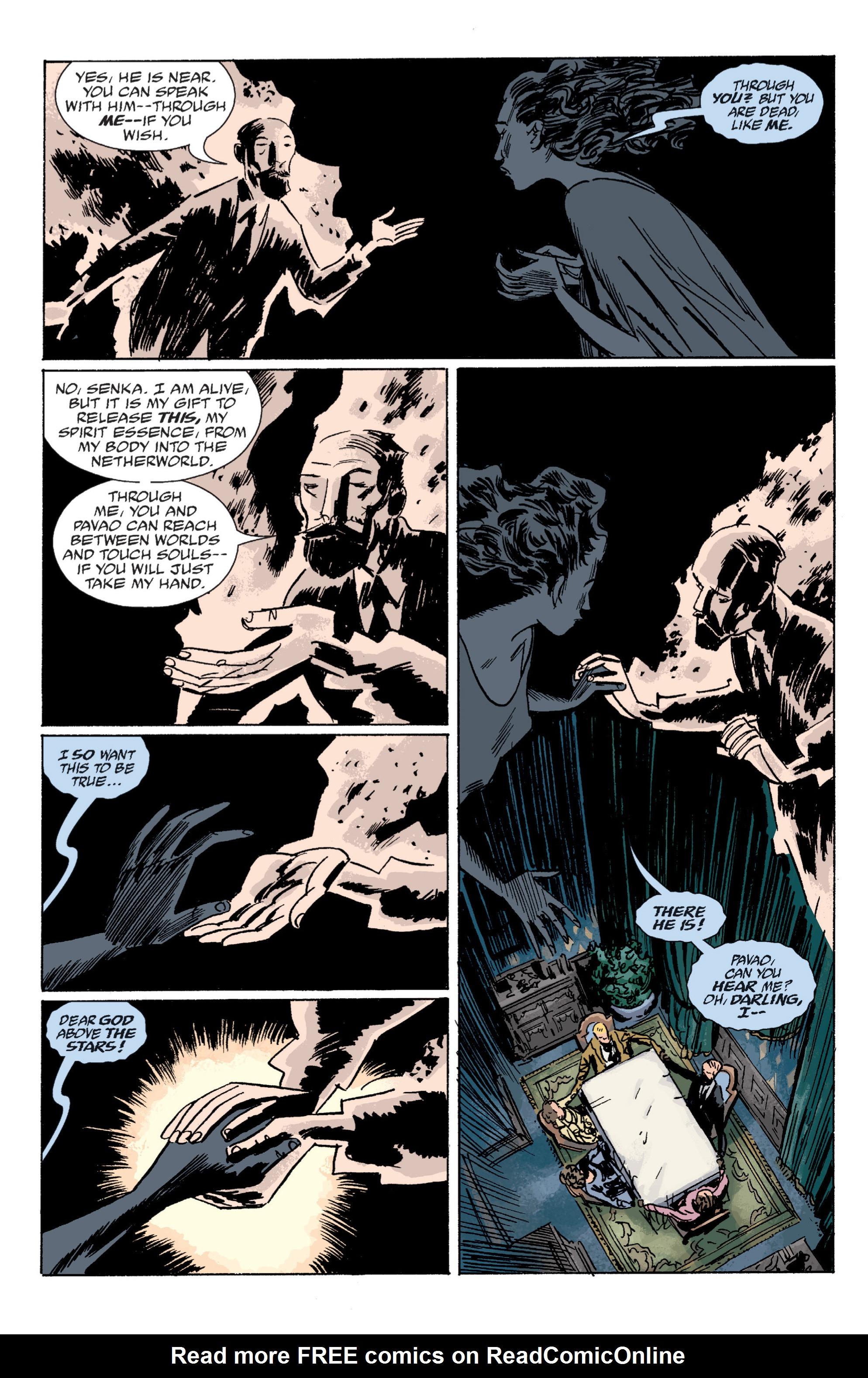 Read online B.P.R.D. (2003) comic -  Issue # TPB 6 - 71