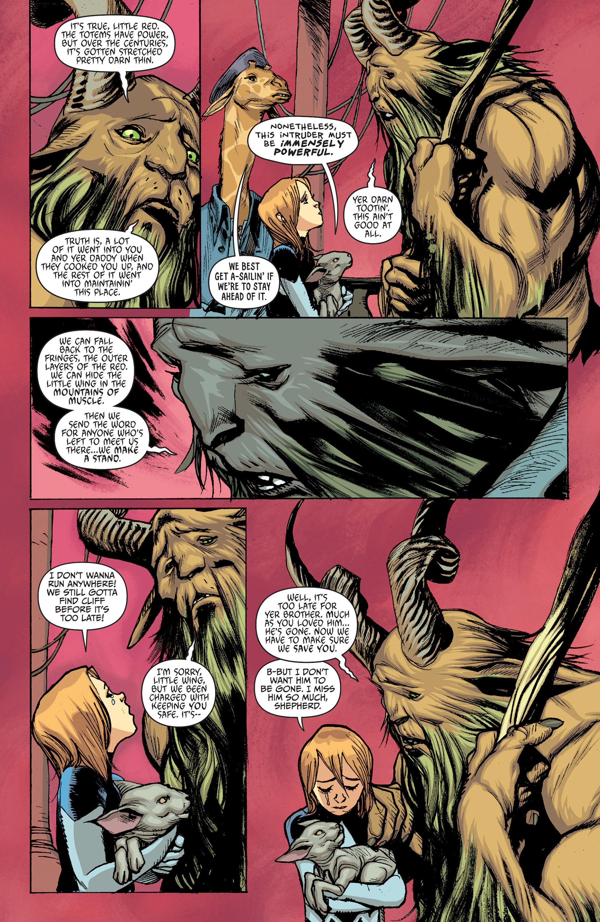 Read online Animal Man (2011) comic -  Issue #24 - 12