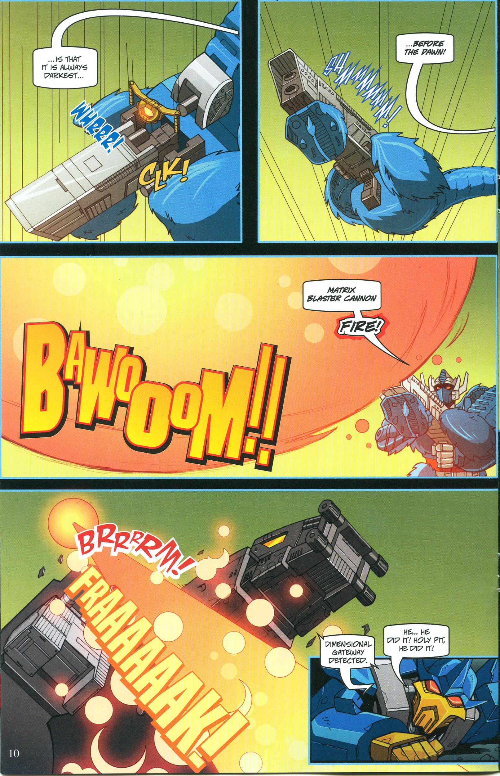 Read online Transformers: Collectors' Club comic -  Issue #54 - 10