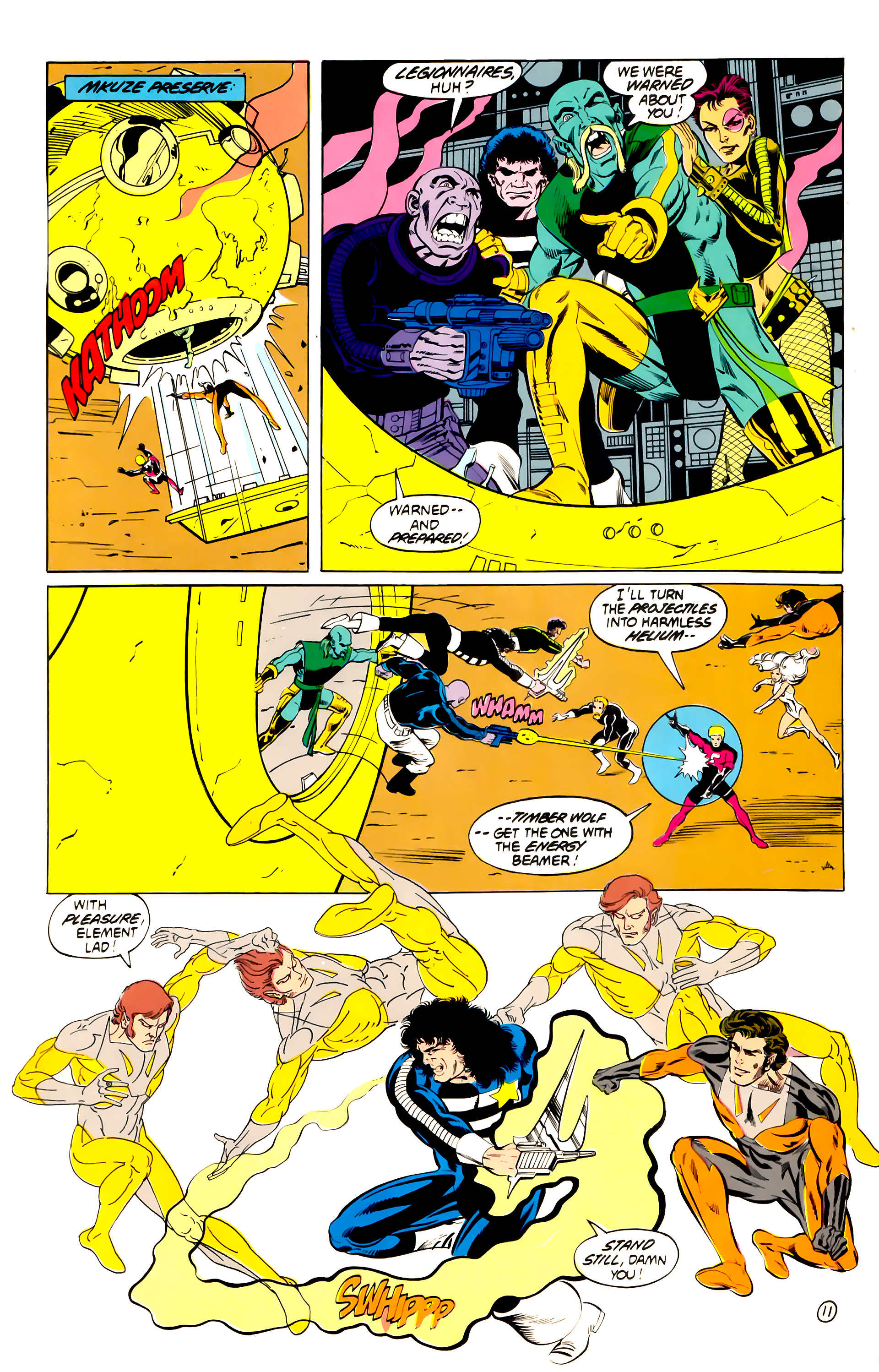 Legion of Super-Heroes (1984) 40 Page 11