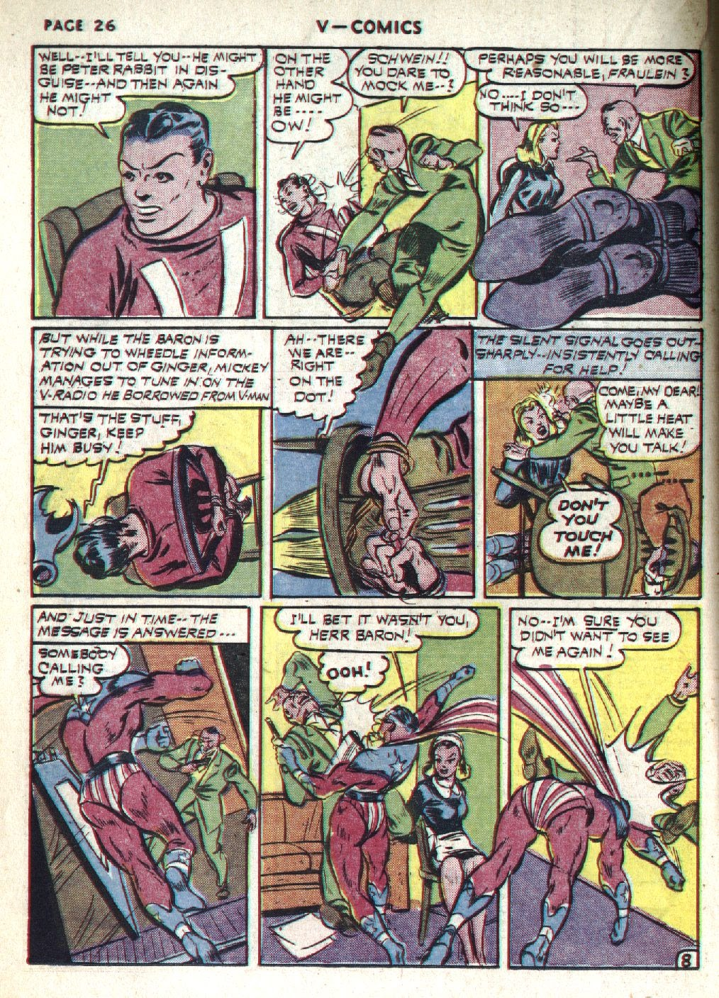 Read online V...- Comics comic -  Issue #1 - 28