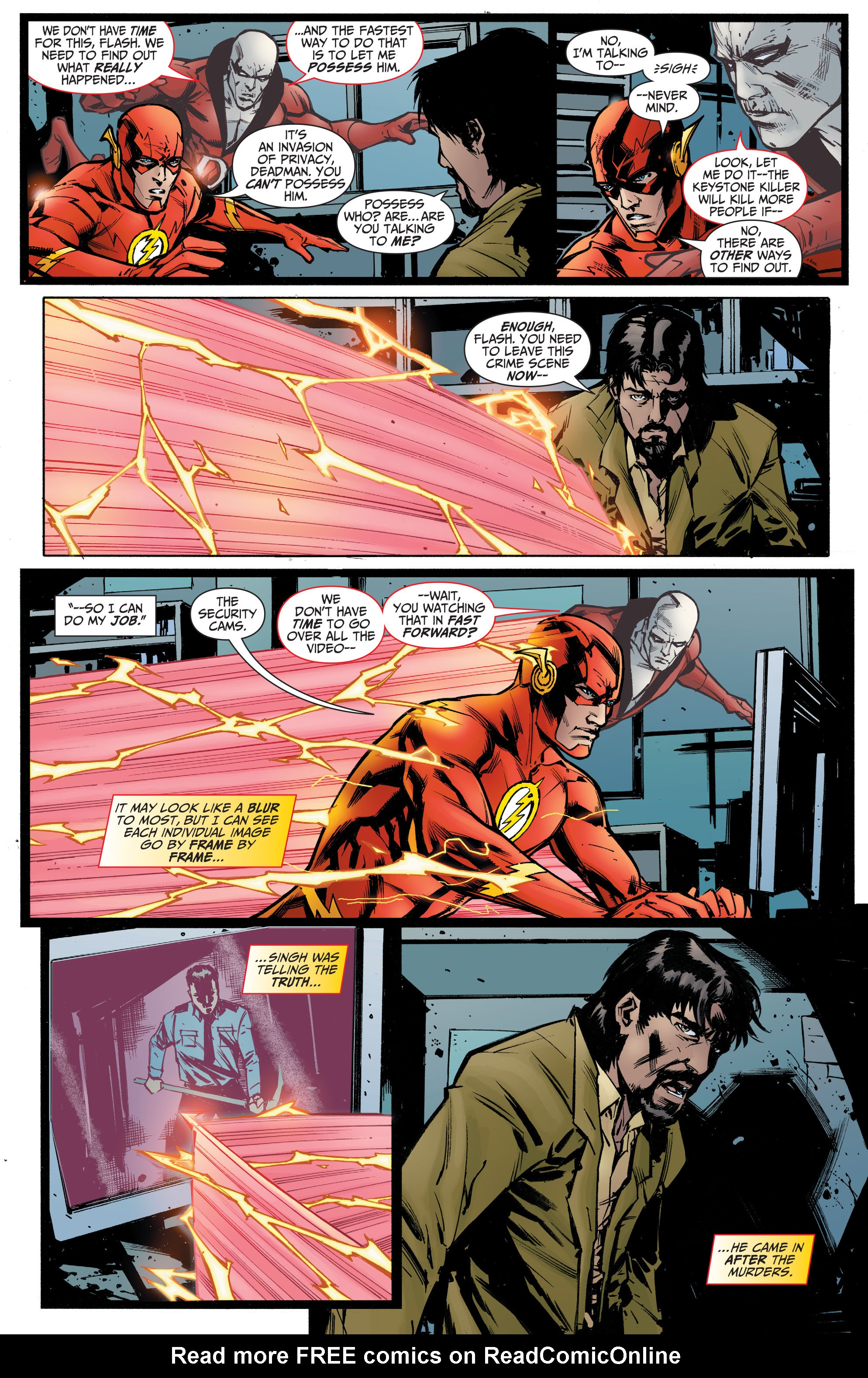 Read online The Flash (2011) comic -  Issue # _TPB 5 - 107