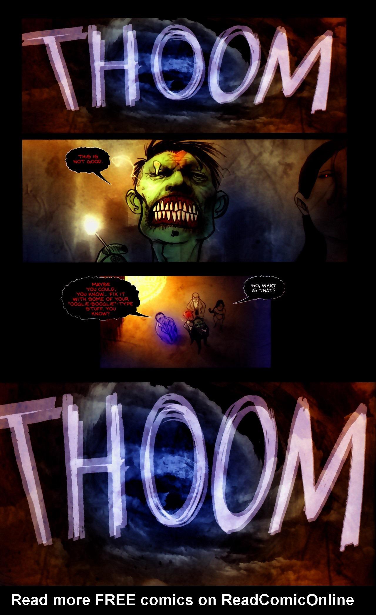 Read online Wormwood: Gentleman Corpse comic -  Issue #9 - 14