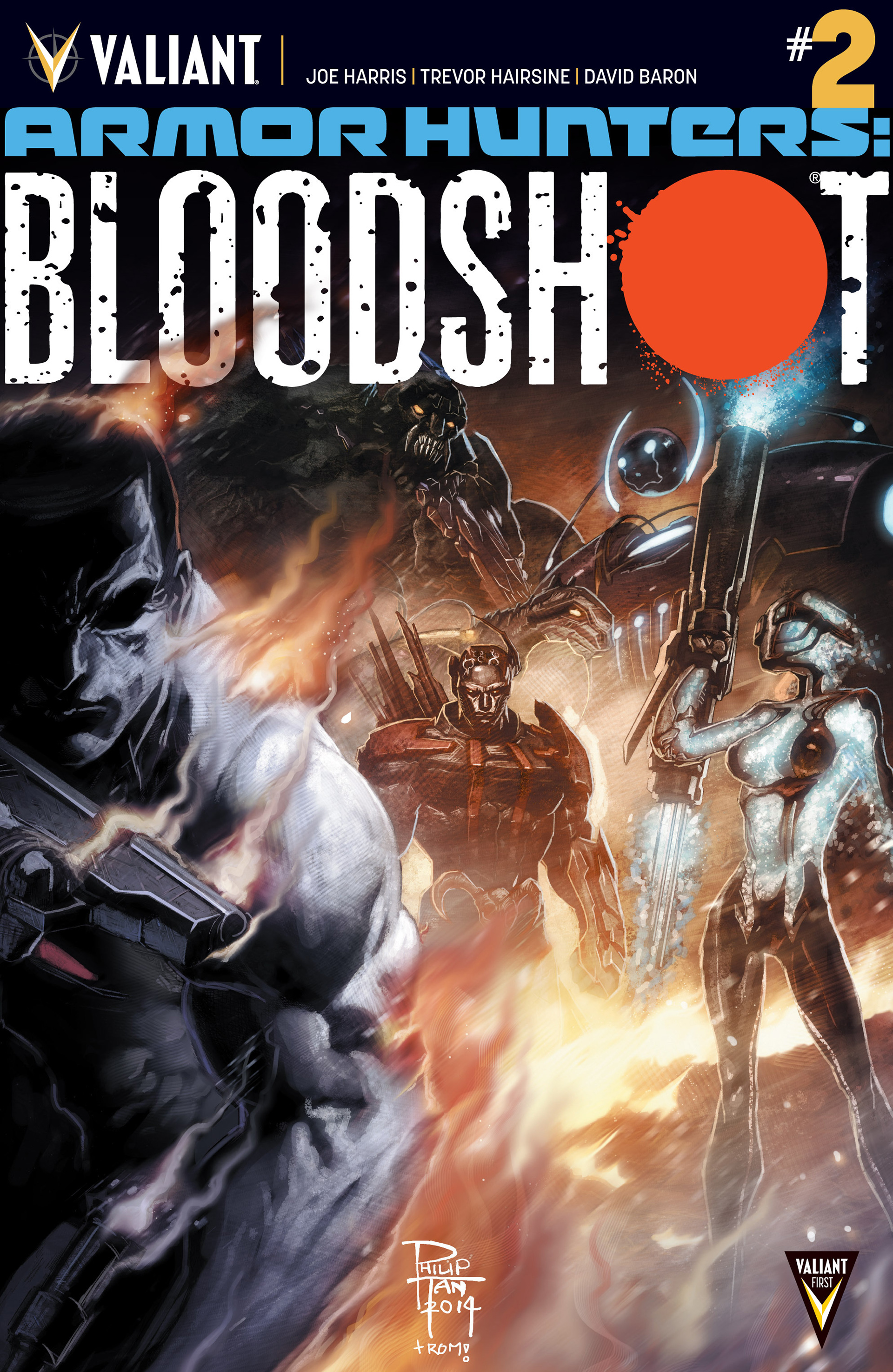 Read online Armor Hunters: Bloodshot comic -  Issue #2 - 1