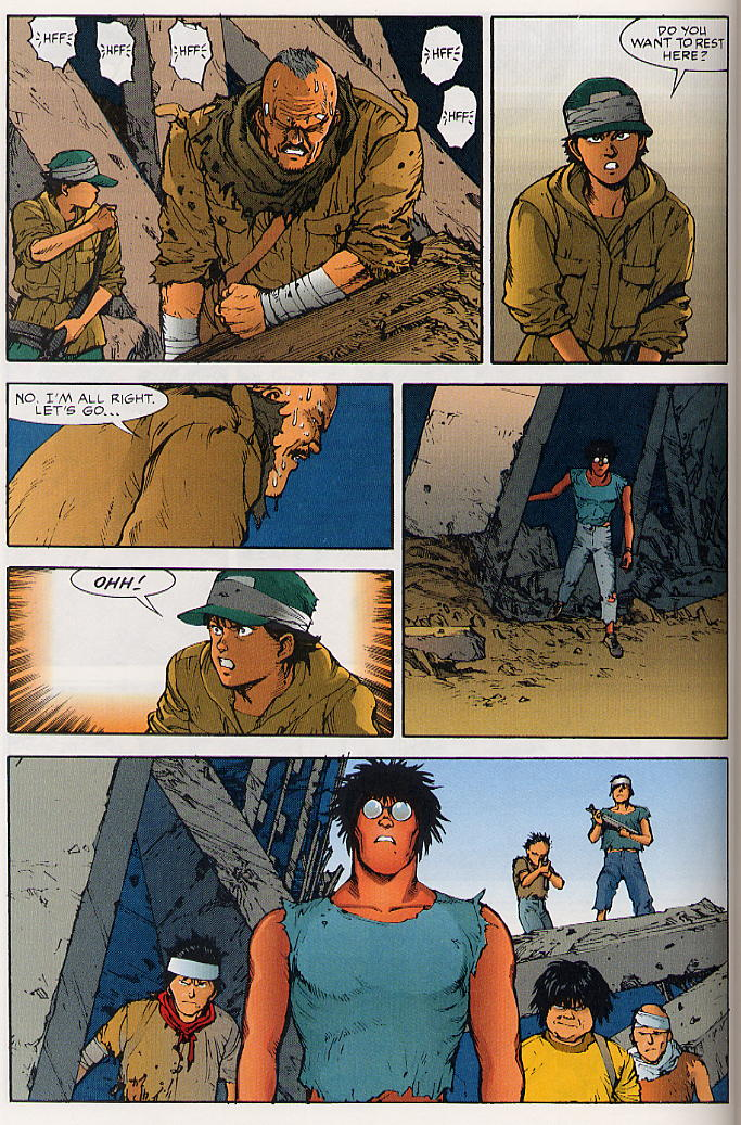 Read online Akira comic -  Issue #25 - 29
