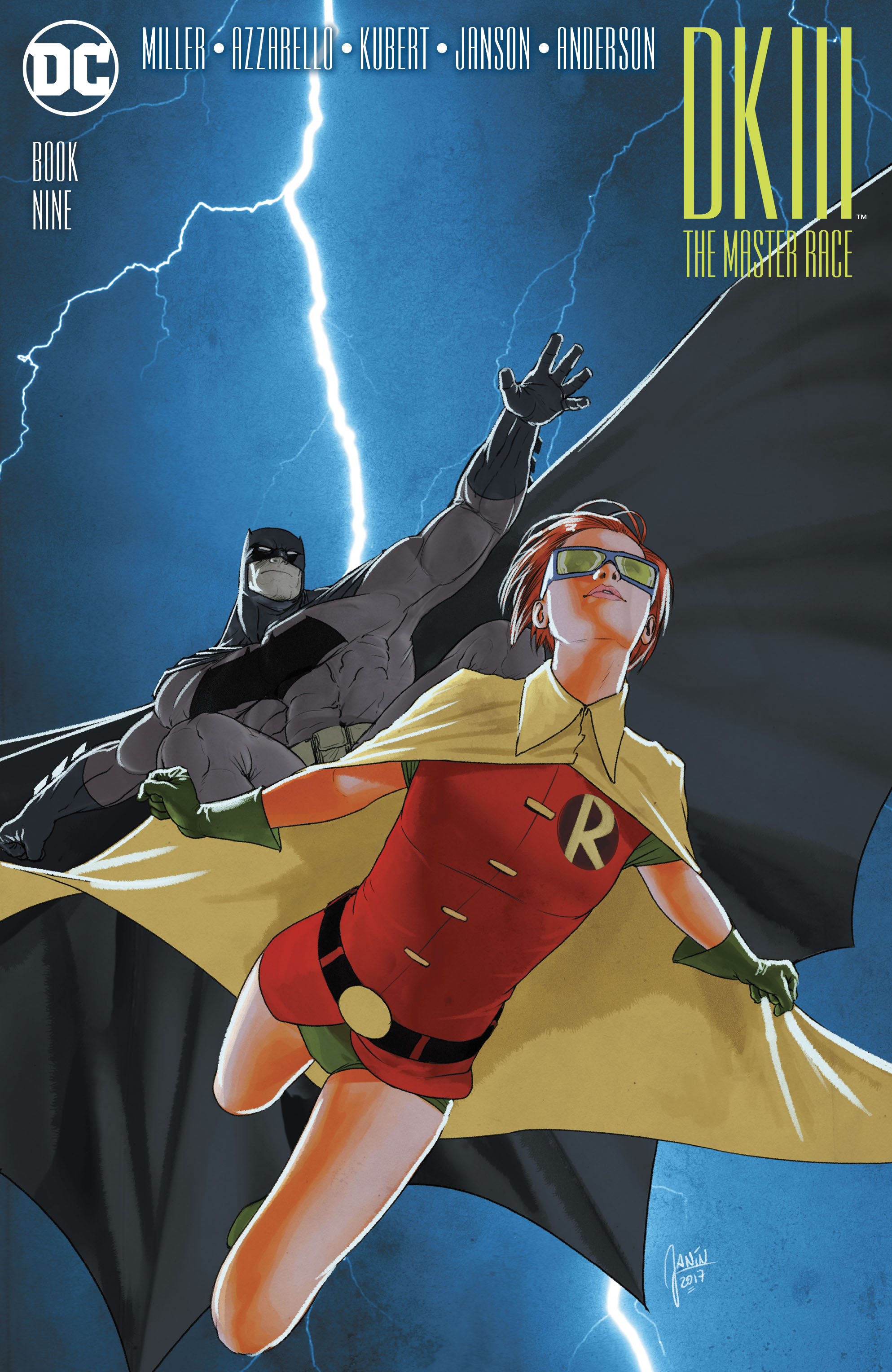 Read online Dark Knight III: The Master Race comic -  Issue #9 - 3