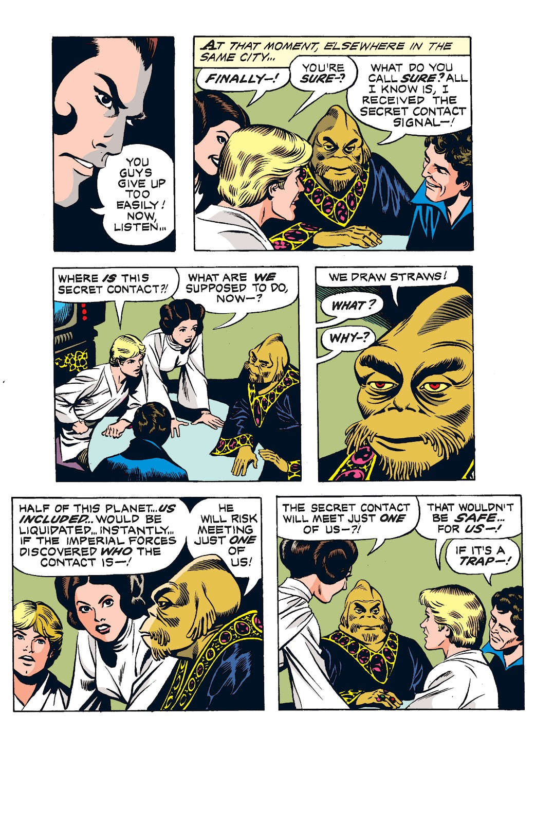 Read online Star Wars Legends: The Newspaper Strips - Epic Collection comic -  Issue # TPB (Part 1) - 93