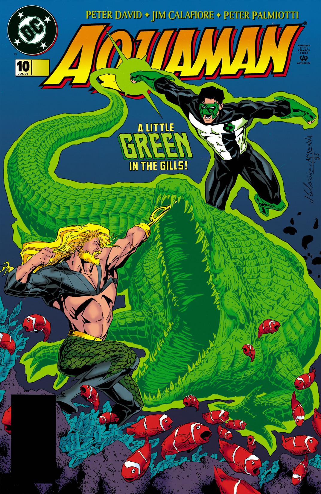 Read online Aquaman (1994) comic -  Issue #10 - 1