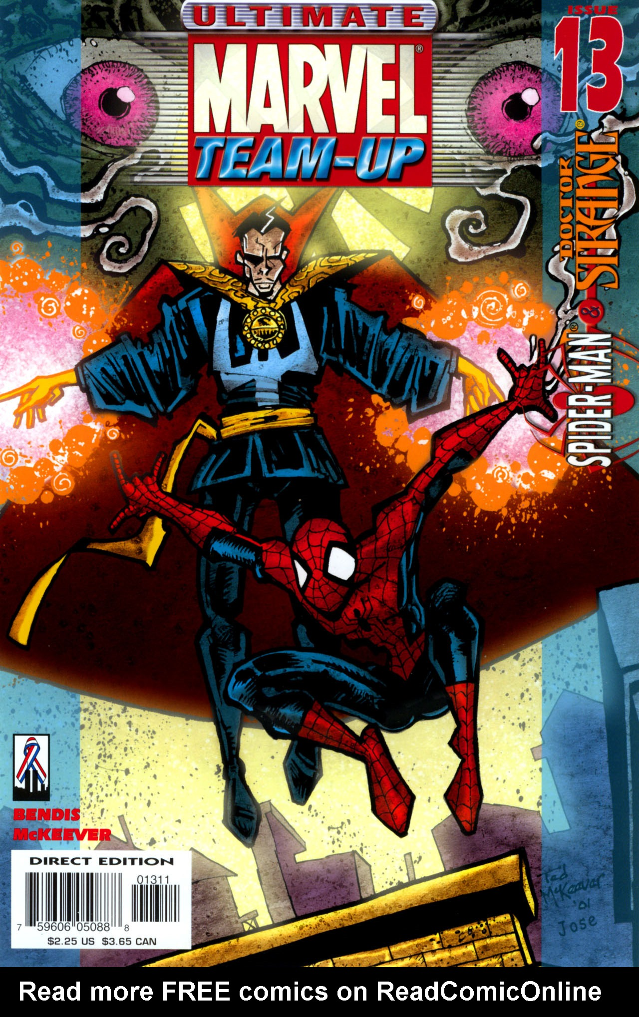 Read online Ultimate Marvel Team-Up comic -  Issue #13 - 1