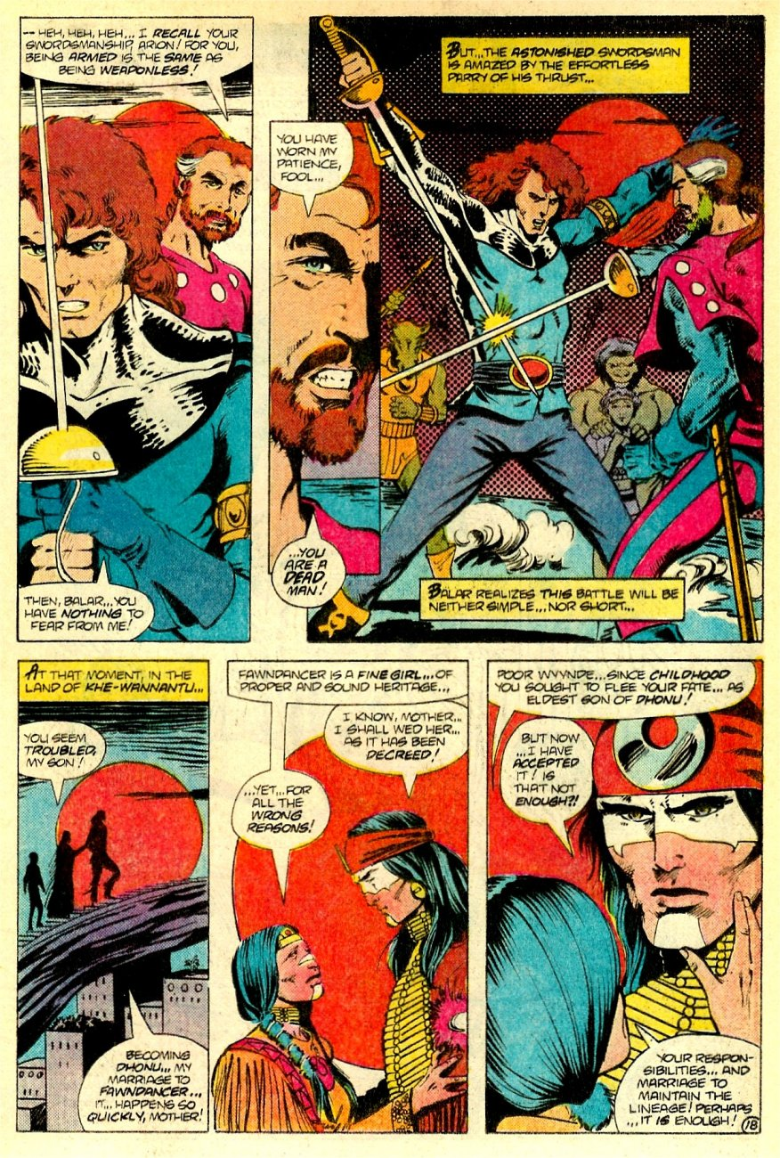 Read online Arion, Lord of Atlantis comic -  Issue #16 - 19